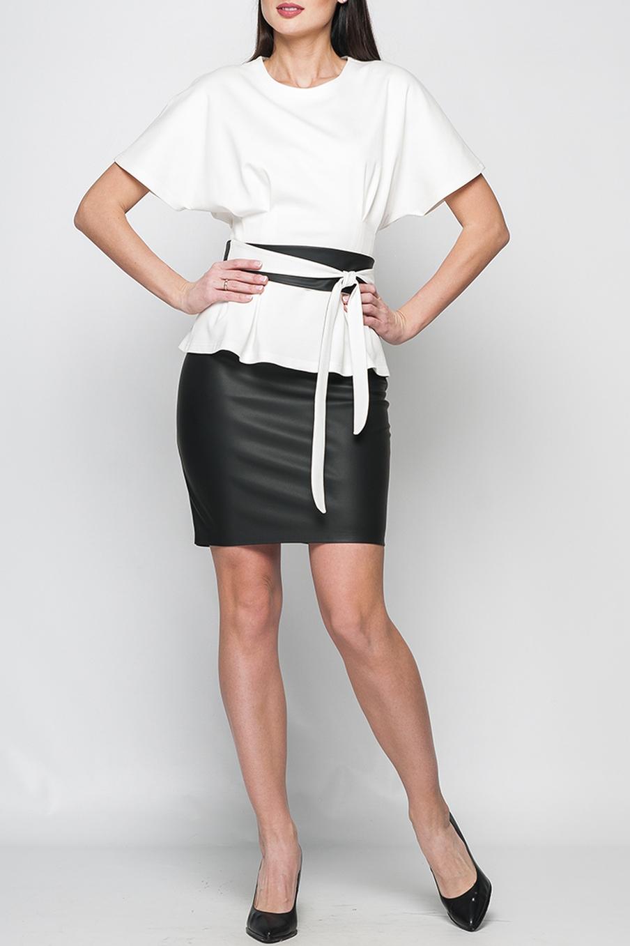 ЮбкаЮбки<br>Стильная юбка-карандаш, выполненная из эко-кожи приталенного силуэта. Талия чуть занижена, сзади расположена потайная застежка-молния. Модель слегка заужена к низу, сзади дополнена разрезом. Идеальный офисный вариант, а также будет являться прекрасным дополнением для создания эффектного образа  В изделии использованы цвета: черный  Рост девушки-фотомодели 175 см.<br><br>По длине: До колена<br>По материалу: Кожа<br>По образу: Город,Офис,Свидание<br>По рисунку: Однотонные<br>По силуэту: Приталенные<br>По стилю: Классический стиль,Офисный стиль,Повседневный стиль<br>По форме: Юбка-карандаш<br>По сезону: Осень,Весна<br>Размер : 42,46<br>Материал: Искусственная кожа<br>Количество в наличии: 2