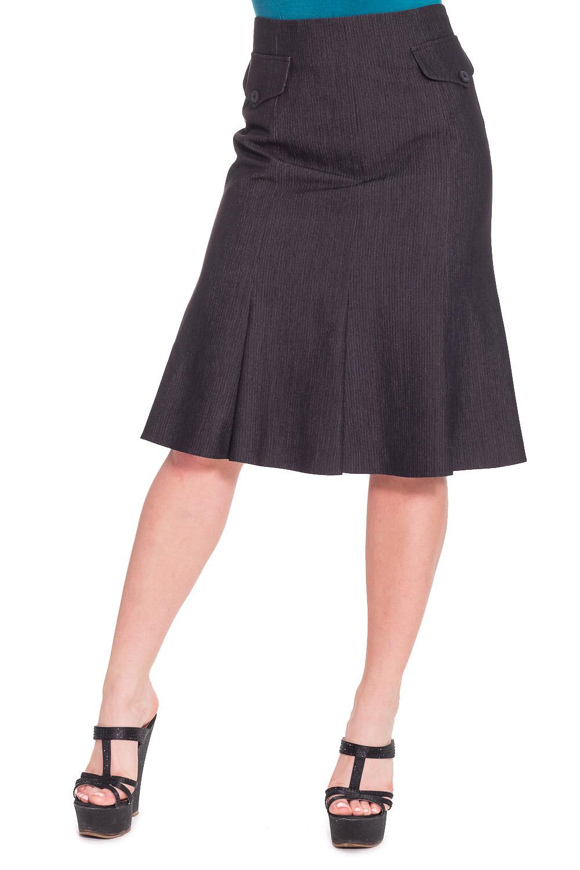 ЮбкаЮбки<br>Модная юбка-годе. Модель выполнена из приятного материала. Отличный выбор для любого случая.  Цвет: черный  Рост девушки-фотомодели 170 см.<br><br>По длине: Ниже колена<br>По материалу: Вискоза,Тканевые<br>По рисунку: Однотонные<br>По сезону: Весна,Осень<br>По силуэту: Полуприталенные<br>По стилю: Офисный стиль,Повседневный стиль<br>По форме: Юбка-годе<br>По элементам: С декором,С завышенной талией<br>Размер : 44,46<br>Материал: Костюмная ткань<br>Количество в наличии: 2