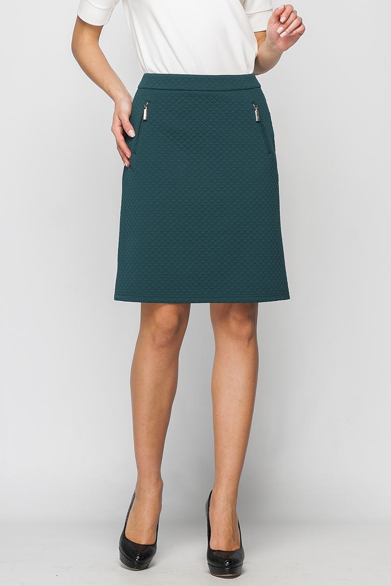 Юбка блузка женская oodji collection цвет бирюзовый терракотовый 21401246 2 17358 7331e размер 44 50 170