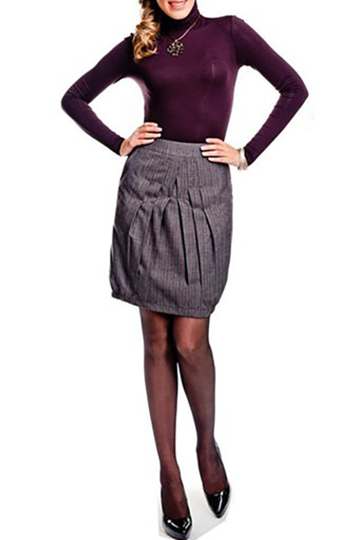 ЮбкаЮбки<br>Женская юбка из плотной костюмной ткани. Модель украшена карманами и складками. Отличный выбор для повседневного гардероба.  Цвет: серый<br><br>По материалу: Тканевые<br>По рисунку: Однотонные<br>По сезону: Весна,Осень<br>По силуэту: Полуприталенные<br>По стилю: Повседневный стиль<br>По длине: До колена<br>По форме: Юбка-тюльпан<br>По элементам: Со складками,С декором<br>Размер : 46<br>Материал: Костюмно-плательная ткань<br>Количество в наличии: 1