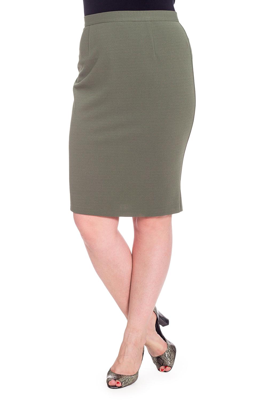 ЮбкаЮбки<br>Классическая юбка длиной до колена. Модель выполнена из приятного материала. Отличный выбор для повседневного и делового гардероба.  В изделии использованы цвета: зеленый  Рост девушки-фотомодели 180 см<br><br>По длине: До колена<br>По материалу: Трикотаж<br>По рисунку: Однотонные<br>По сезону: Весна,Зима,Лето,Осень,Всесезон<br>По силуэту: Приталенные<br>По стилю: Классический стиль,Офисный стиль,Повседневный стиль<br>По форме: Юбка-карандаш<br>По элементам: С декором,С завышенной талией,С отделочной фурнитурой<br>Размер : 42,44,46,50<br>Материал: Трикотаж<br>Количество в наличии: 4