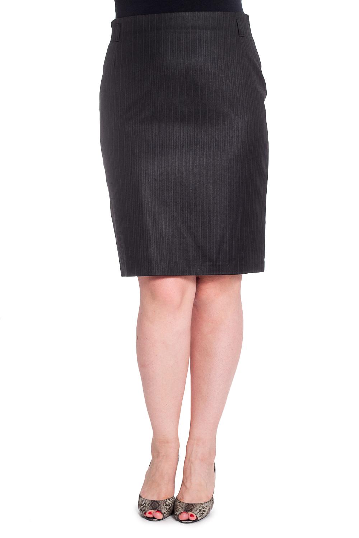 ЮбкаЮбки<br>Классическая юбка с завышенной талией. Модель выполнена из приятного материала. Прекрасный вариант для любого случая.  В изделии использованы цвета: черный  Рост девушки-фотомодели 180 см.<br><br>По длине: До колена<br>По материалу: Костюмные ткани,Тканевые<br>По рисунку: В полоску,Однотонные<br>По сезону: Весна,Зима,Лето,Осень,Всесезон<br>По силуэту: Приталенные<br>По стилю: Классический стиль,Офисный стиль,Повседневный стиль<br>По форме: Юбка-карандаш<br>По элементам: С разрезом<br>Разрез: Короткий<br>Размер : 50<br>Материал: Костюмная ткань<br>Количество в наличии: 1