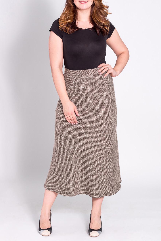 ЮбкаЮбки<br>Удлиненная юбка из плотного материала. Отличный выбор для повседневного и делового гардероба.  Цвет: бежевый  Рост девушки-фотомодели 180 см<br><br>По материалу: Тканевые,Шерсть<br>По рисунку: Однотонные<br>По сезону: Зима<br>По стилю: Офисный стиль,Повседневный стиль<br>По элементам: С завышенной талией<br>По длине: Ниже колена,Миди<br>По силуэту: Полуприталенные<br>По форме: Юбка-годе<br>Размер : 52,54<br>Материал: Костюмная ткань<br>Количество в наличии: 2