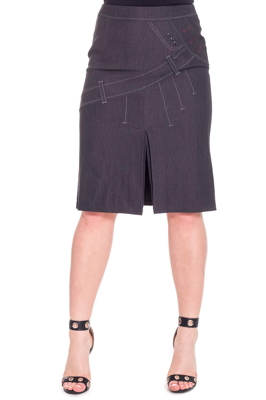 ЮбкаЮбки<br>Красивая юбка из плотного материала. Отличный выбор для повседневного гардероба.  Цвет: серый  Рост девушки-фотомодели 170 см.<br><br>По длине: Ниже колена<br>По материалу: Тканевые<br>По рисунку: Однотонные<br>По сезону: Весна,Осень<br>По силуэту: Полуприталенные<br>По стилю: Повседневный стиль<br>По форме: Юбка-карандаш<br>По элементам: С завышенной талией,С разрезом<br>Разрез: Короткий<br>Размер : 44<br>Материал: Костюмная ткань<br>Количество в наличии: 1