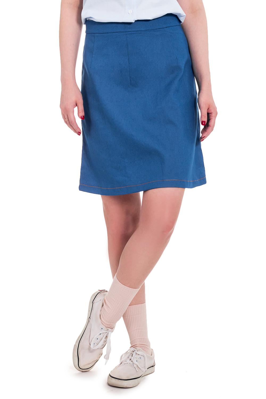 ЮбкаЮбки<br>Очаровательная юбка трапециевидного кроя станет незаменимым аксессуаром в вашем гардеробе. Побалуйте себя стильными изделиями из коллекции JATRAW URBAN.  Юбка силуэта трапеция, на поясе. На спинке средний шов и молния.  Цвет: голубовато-синий джинс.  Рост девушки-фотомодели 168 см  Длина изделия - 50 ± 2 см<br><br>По длине: До колена<br>По материалу: Джинс,Хлопок<br>По рисунку: Однотонные<br>По сезону: Весна,Зима,Лето,Осень,Всесезон<br>По силуэту: Полуприталенные<br>По стилю: Классический стиль,Кэжуал,Летний стиль,Молодежный стиль,Повседневный стиль,Романтический стиль,Ультрамодный стиль<br>Застежка: С молнией<br>Размер : 42,44,46,48,50,52<br>Материал: Джинс<br>Количество в наличии: 15