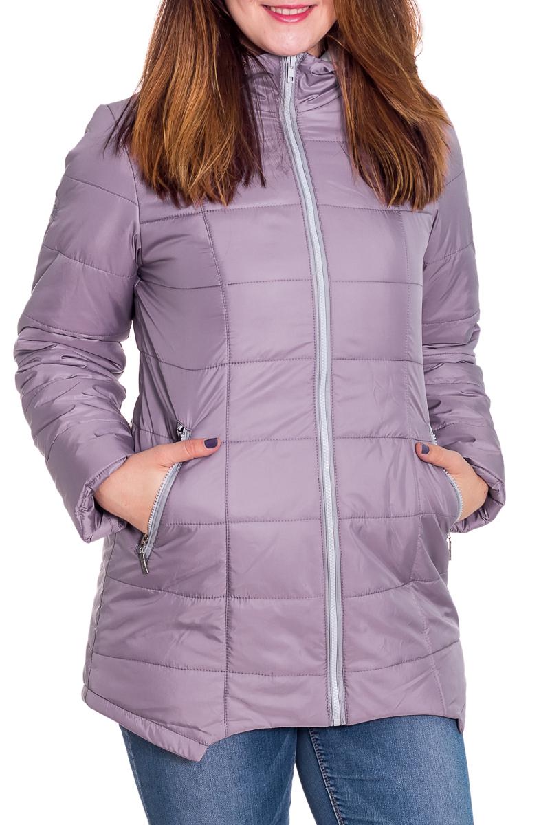 КурткаКуртки<br>Красивая куртка с капюшоном. Модель выполнена из непродуваемой ткани. Отличный выбор для повседневного гардероба.  Цвет: сиреневый  Ростовка изделия 180 см<br><br>Воротник: Стойка<br>Застежка: С молнией<br>По длине: Средней длины<br>По материалу: Плащевая ткань<br>По рисунку: Однотонные<br>По сезону: Весна,Осень<br>По силуэту: Полуприталенные<br>По стилю: Повседневный стиль<br>По элементам: С капюшоном,С карманами<br>Рукав: Длинный рукав<br>Размер : 46,48<br>Материал: Плащевая ткань<br>Количество в наличии: 2