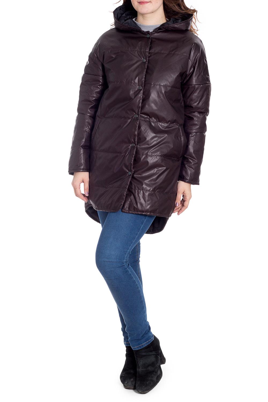 КурткаКуртки<br>Ультрамодная куртка с удлиненной спинкой. Модель выполнена из плотной болоньи с застежкой на кнопки. Отличный выбор для повседневного гардероба.  Цвет: шоколад  Рост девушки-фотомодели 180 см.<br><br>Застежка: С кнопками<br>По длине: Средней длины<br>По образу: Город<br>По рисунку: Однотонные<br>По силуэту: Прямые<br>По стилю: Кэжуал,Молодежный стиль,Повседневный стиль<br>По элементам: С капюшоном,С карманами,С фигурным низом<br>Рукав: Длинный рукав<br>По сезону: Осень,Весна<br>Размер : 46-48,50-52,66-68,70-72<br>Материал: Болонья<br>Количество в наличии: 4