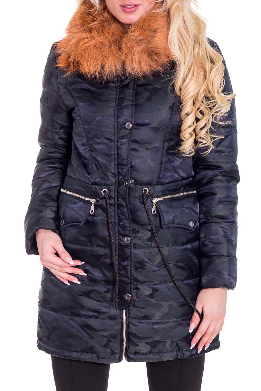 КурткаКуртки<br>Теплая зимняя курточка со стоячим воротником, застежкой молнией. Модель выполнена из плотной болоньи. Отличный выбор для повседневного гардероба.  Цвет: синий  Температурный режим от -20 до -25 градусов.  Рост девушки-фотомодели 170 см.<br><br>Воротник: Стойка<br>Застежка: С кнопками,С молнией<br>По длине: Удлиненные<br>По материалу: Плащевая ткань<br>По рисунку: Однотонные<br>По силуэту: Полуприталенные<br>По стилю: Повседневный стиль<br>По элементам: С декором,С карманами<br>Рукав: Длинный рукав<br>По сезону: Зима<br>Размер : 42,44,46,48<br>Материал: Болонья<br>Количество в наличии: 4