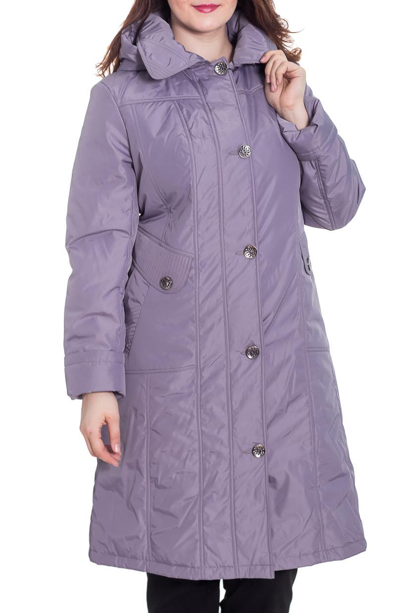 КурткаКуртки<br>Демисезонная курточка со стояче-отложным воротником, застежкой на пуговицы и капюшоном. Модель выполнена из плотной плащевой ткани. Отличный выбор для повседневного гардероба. Ростовка изделия 170 см.  Цвет: лавандовый  Температурный режим: до -10 градусов.  Рост девушки-фотомодели 180 см.<br><br>Воротник: Стояче-отложной<br>Застежка: С пуговицами<br>По длине: Удлиненные<br>По материалу: Плащевая ткань<br>По рисунку: Однотонные<br>По силуэту: Полуприталенные<br>По стилю: Повседневный стиль<br>По элементам: С капюшоном,С карманами<br>Рукав: Длинный рукав<br>По сезону: Осень,Весна<br>Размер : 56,58<br>Материал: Плащевая ткань<br>Количество в наличии: 2