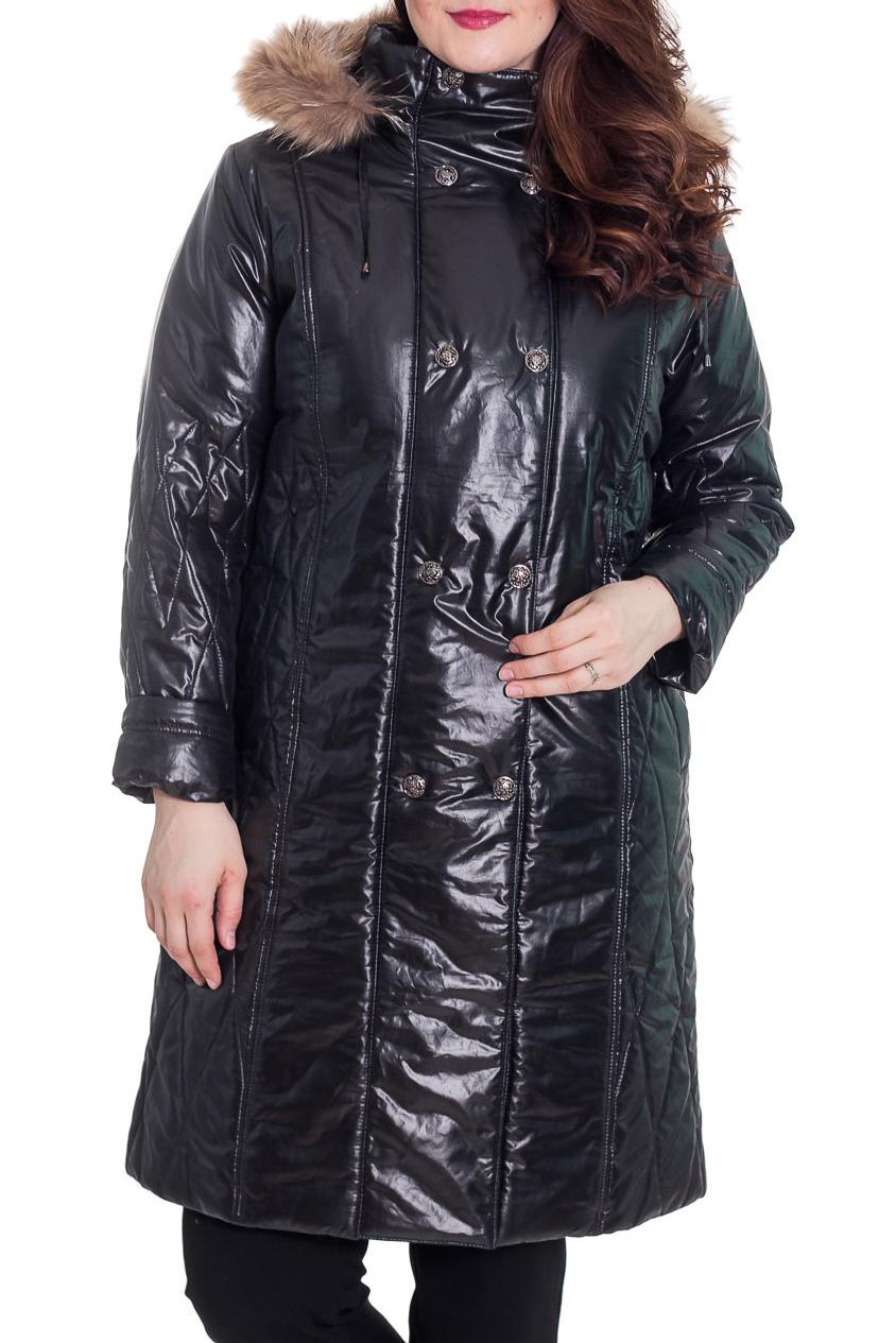 КурткаКуртки<br>Замечательная женская куртка с длинными рукавами, капюшоном с мехом Ростовка изделия 170 см.  Цвет: черный  Рост девушки-фотомодели 180 см  Температурный режим: до -10 градусов.<br><br>Воротник: Стойка<br>Застежка: С молнией<br>По длине: Удлиненные<br>По материалу: Мех,Плащевая ткань<br>По образу: Город<br>По рисунку: Однотонные<br>По сезону: Зима,Осень,Весна<br>По силуэту: Полуприталенные<br>По стилю: Повседневный стиль<br>По элементам: С декором,С капюшоном,С карманами,С манжетами<br>Рукав: Длинный рукав<br>Размер : 48<br>Материал: Болонья<br>Количество в наличии: 1