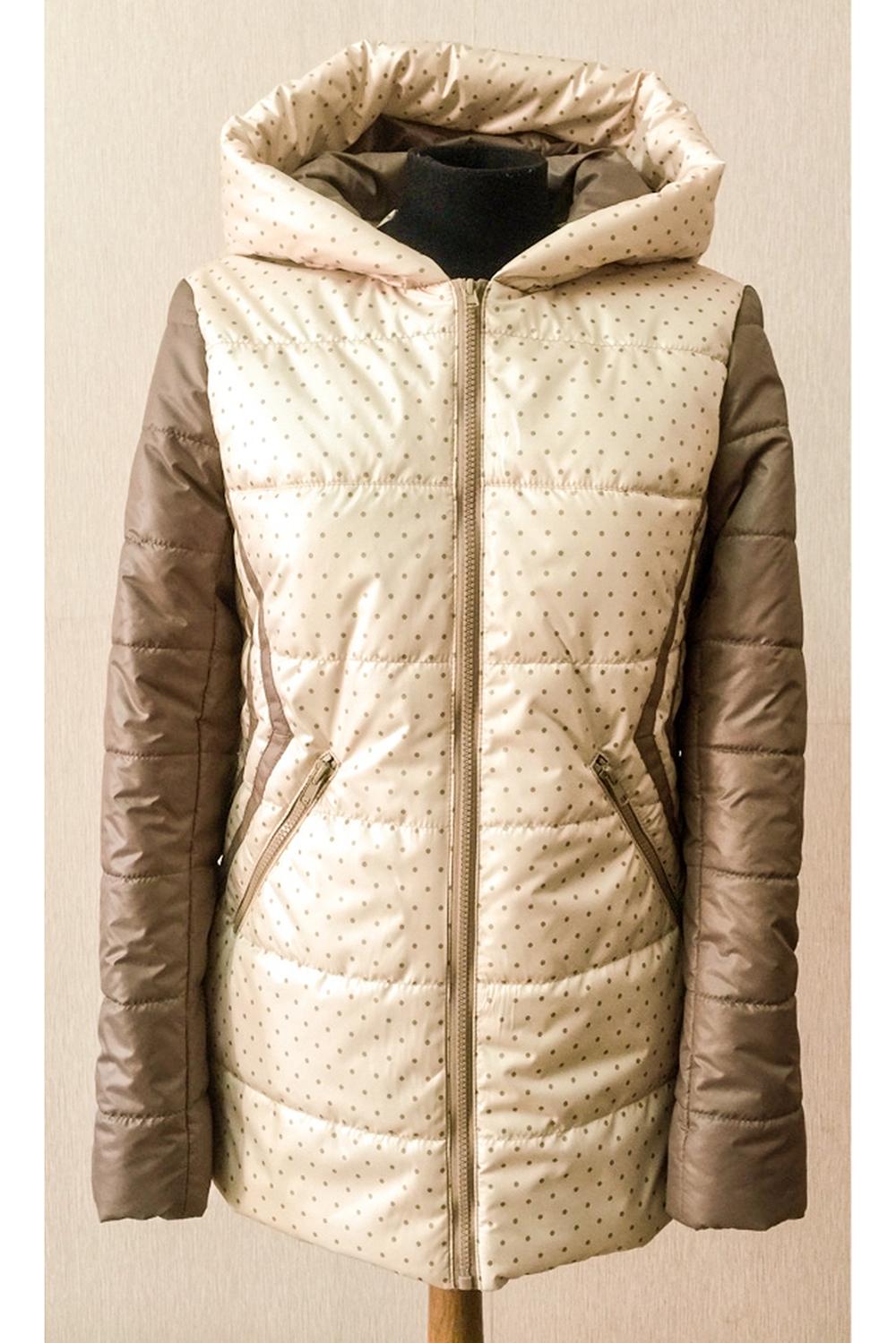 КурткаКуртки<br>Демисезонная курточка с застежкой на молнию и капюшоном. Модель выполнена из плотной болони. Отличный выбор для повседневного гардероба. Ростовка изделия 170 см.  Цвет: бежевый  Температурный режим: до -10 градусов.<br><br>Застежка: С молнией<br>По длине: Средней длины<br>По материалу: Плащевая ткань<br>По образу: Город<br>По рисунку: С принтом,Цветные<br>По силуэту: Полуприталенные<br>По стилю: Повседневный стиль<br>По элементам: С капюшоном,С карманами<br>Рукав: Длинный рукав<br>По сезону: Осень,Весна<br>Размер : 46,48<br>Материал: Болонья<br>Количество в наличии: 2