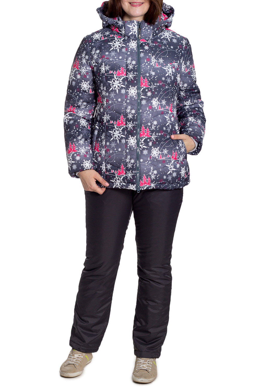КостюмВерхняя одежда<br>Теплый зимний костюм со стоячим воротником, застежкой молнией и капюшоном. Модель выполнена из плотной мембраны. Отличный выбор для занятий спортом или активного отдыха. Костюм состоит из курточки и комбинезона.  В изделии использованы цвета: серый, черный и др.  Температурный режим от -20 до -25 градусов.  Рост девушки-фотомодели 180 см.<br><br>Воротник: Стойка<br>Застежка: С молнией<br>По длине: Макси<br>По материалу: Тканевые<br>По рисунку: Растительные мотивы,С принтом,Цветные<br>По силуэту: Полуприталенные<br>По стилю: Повседневный стиль,Спортивный стиль<br>По элементам: С капюшоном,С карманами<br>Рукав: Длинный рукав<br>По сезону: Зима<br>Размер : 50<br>Материал: Мембрана<br>Количество в наличии: 2