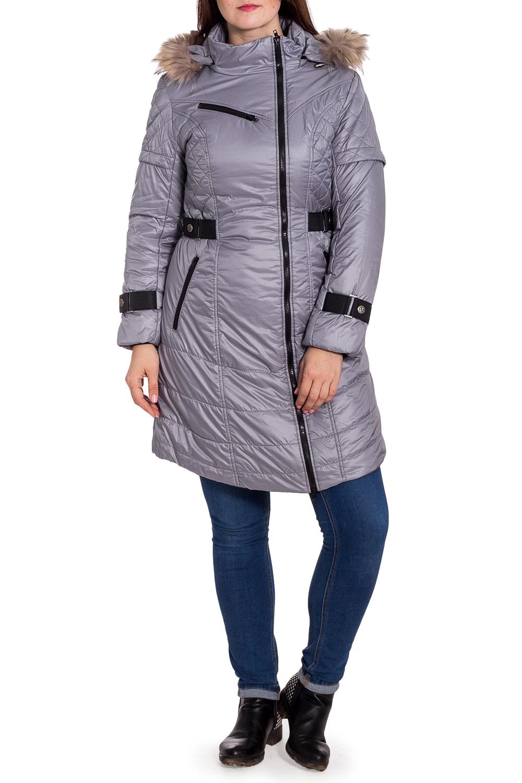 КурткаКуртки<br>Зимняя куртка с капюшоном. Модель выполнена из плотной болоньи с контрастной отделкой. Отличный выбор для повседневного гардероба.  В изделии использованы цвета: серый, черный  Температурный режим: до -15 градусов.  Рост девушки-фотомодели 180 см<br><br>Воротник: Стойка<br>Застежка: С молнией<br>По длине: Удлиненные<br>По материалу: Тканевые<br>По образу: Город<br>По рисунку: Однотонные<br>По силуэту: Полуприталенные<br>По элементам: С капюшоном,С карманами<br>Рукав: Длинный рукав<br>По сезону: Осень,Весна<br>Размер : 42,48<br>Материал: Болонья<br>Количество в наличии: 3