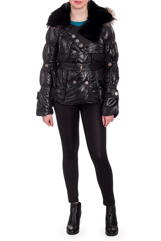 КурткаКуртки<br>Укороченная куртка с капюшоном. Модель выполнена из плотной болоньи. Отличный вариант для повседневного гардероба. Мех отстегивается. Куртка без пояса.  Утеплитель: гусиный пух  Цвет: черный  Рост девушки-фотомодели 170 см<br><br>Воротник: Отложной<br>По длине: Короткие<br>По образу: Город<br>По рисунку: Однотонные<br>По силуэту: Полуприталенные<br>По стилю: Повседневный стиль<br>По элементам: С капюшоном,С карманами,С отделочной фурнитурой<br>Рукав: Длинный рукав<br>По сезону: Осень,Весна<br>Размер : 42,44,46,48<br>Материал: Болонья<br>Количество в наличии: 10