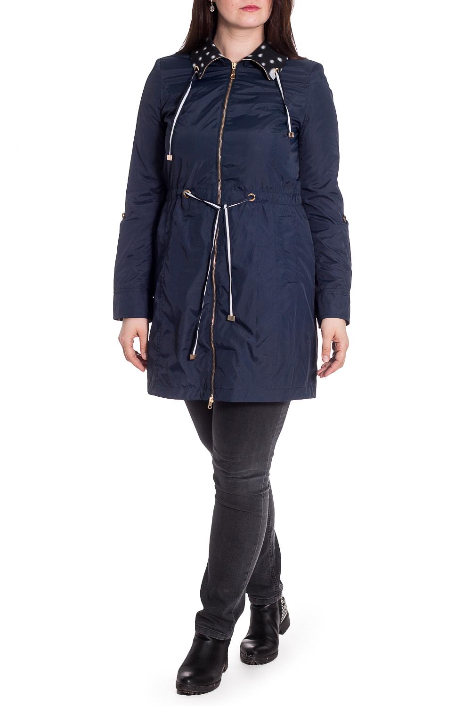 ВетровкаВерхняя одежда<br>Удлиненная куртка с застежкой на молнию. Модель выполнена из плотного материала. Отличный выбор для повседневного гардероба. Ветровка с подкладом из 100% полиэстера.  Ростовка изделия 164 см.  В изделии использованы цвета: синий и др.  Рост девушки-фотомодели 180 см.<br><br>Воротник: Отложной<br>Застежка: С молнией<br>По длине: До колена<br>По материалу: Плащевая ткань<br>По рисунку: Однотонные<br>По силуэту: Приталенные<br>По стилю: Повседневный стиль<br>По элементам: С капюшоном,С карманами,С манжетами<br>Рукав: Длинный рукав<br>По сезону: Осень,Весна<br>Размер : 48,50,52,54,56<br>Материал: Болонья<br>Количество в наличии: 5