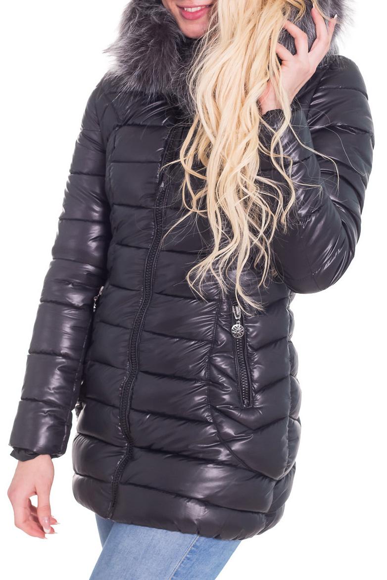 КостюмКуртки<br>Теплая зимняя курточка со стоячим воротником, застежкой молнией и капюшоном. Модель выполнена из плотной болоньи. Отличный выбор для повседневного гардероба.  Цвет: черный  Температурный режим от -20 до -25 градусов.  Рост девушки-фотомодели 170 см.<br><br>Воротник: Стойка<br>Застежка: С молнией<br>По длине: Средней длины<br>По материалу: Мех,Плащевая ткань<br>По образу: Город<br>По рисунку: Однотонные<br>По сезону: Зима<br>По силуэту: Полуприталенные<br>По стилю: Повседневный стиль<br>По элементам: С карманами<br>Рукав: Длинный рукав<br>Размер : 42<br>Материал: Болонья<br>Количество в наличии: 1