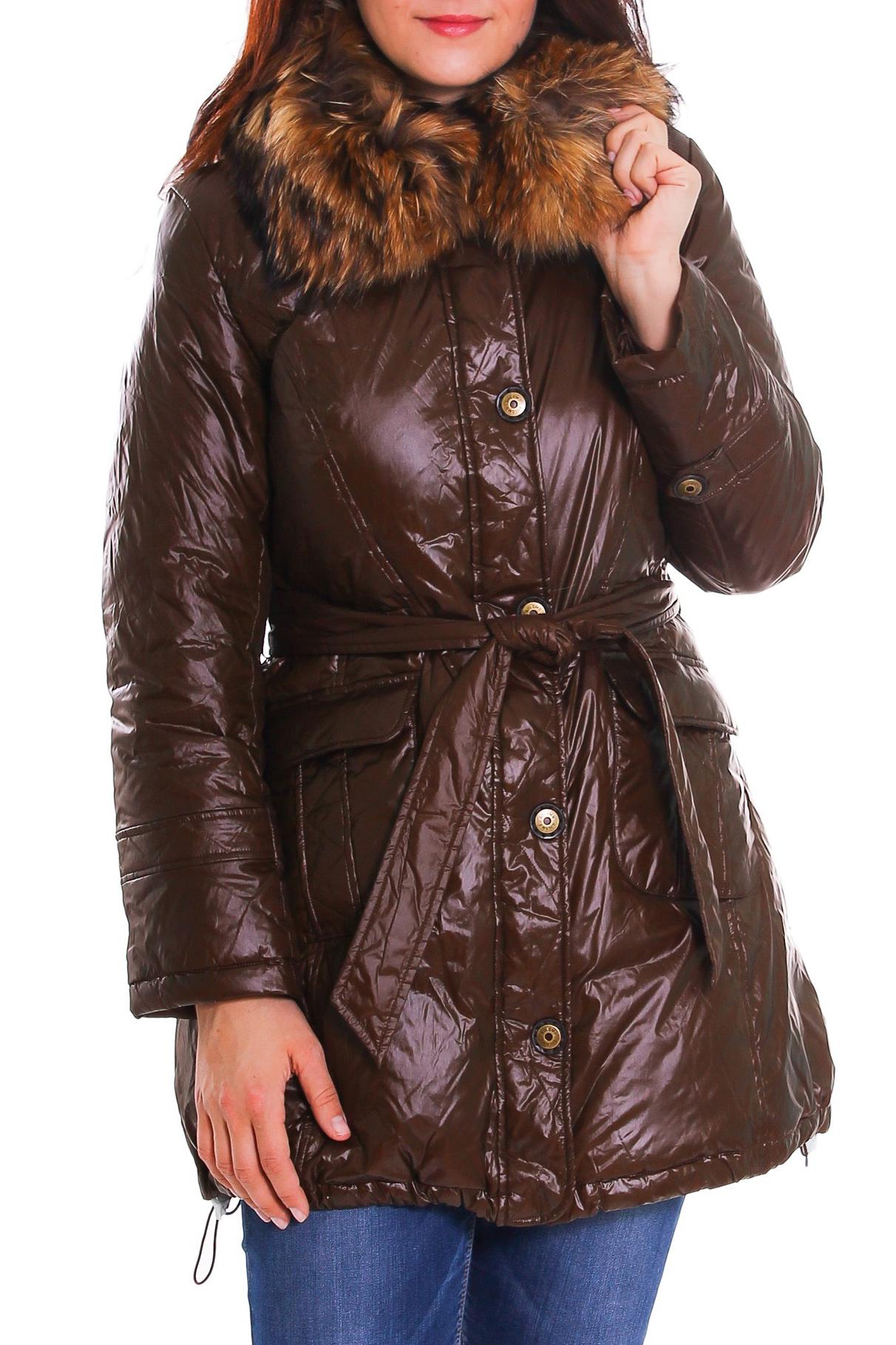 КурткаКуртки<br>Теплая зимняя куртка для прекрасных дам. Пояс в комплект не входит  Рост девушки-фотомодели 180 см.<br><br>Воротник: Стойка<br>По материалу: Плащевая ткань,Тканевые<br>По рисунку: Однотонные<br>По сезону: Зима<br>По форме: Куртка-парка<br>По элементам: С воротником,С карманами<br>Рукав: Длинный рукав<br>По длине: Средней длины<br>По стилю: Повседневный стиль<br>Застежка: С молнией<br>Размер : 48<br>Материал: Болонья<br>Количество в наличии: 1