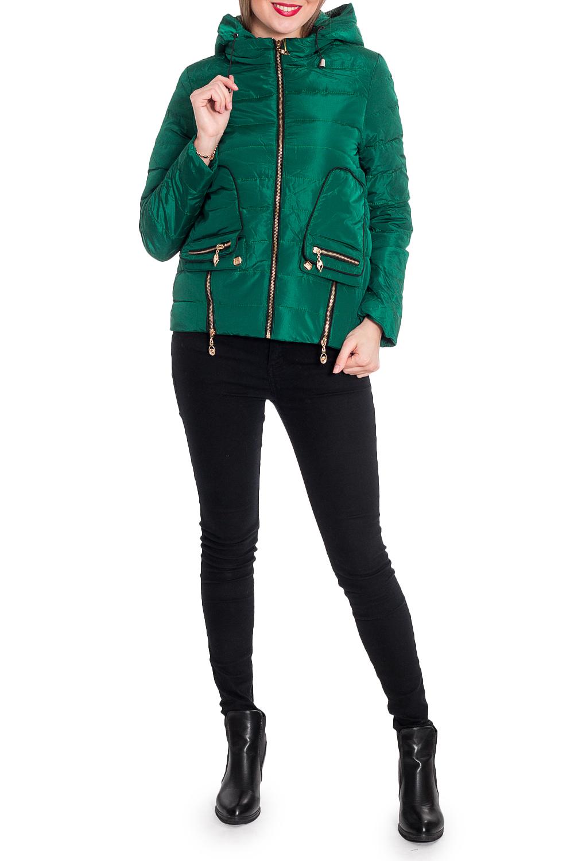 КурткаКуртки<br>Однотонная короткая куртка прямого силуэта с капюшоном. Модель выполнена из плотной болоньи. Отличный выбор для повседневного гардероба.  В изделии использованы цвета: зеленый  Рост девушки-фотомодели 170 см.<br><br>Воротник: Стойка<br>Застежка: С молнией<br>По длине: Короткие<br>По материалу: Плащевая ткань<br>По рисунку: Однотонные<br>По силуэту: Прямые<br>По стилю: Кэжуал,Молодежный стиль,Повседневный стиль<br>По элементам: С капюшоном,С карманами,С отделочной фурнитурой<br>Рукав: Длинный рукав<br>По сезону: Осень,Весна<br>Размер : 42,44,46,48,50<br>Материал: Болонья<br>Количество в наличии: 6