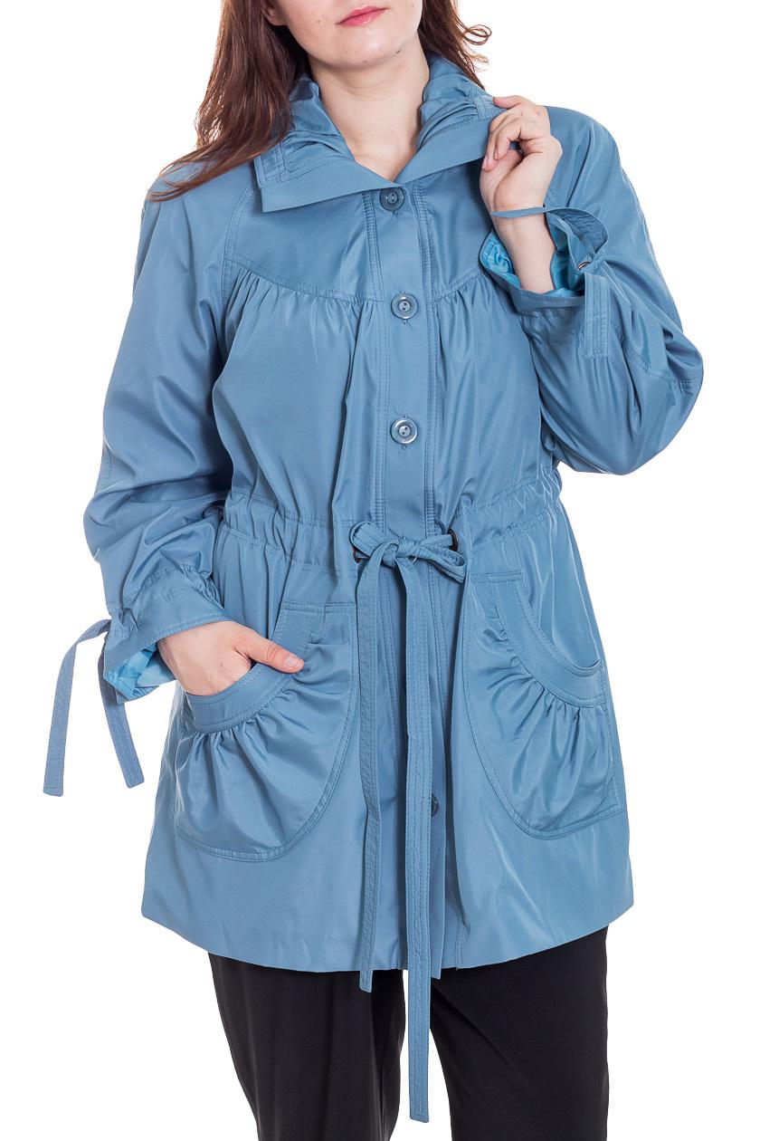ВетровкаВерхняя одежда<br>Отличная ветровка защитит Вас от непогоды. Модель с подкладом, выполнена из плотного материала. Замечательный выбор для повседневного гардероба. Ростовка изделия 170 см.  Ветровка без пояса.  Цвет: голубой  Рост девушки-фотомодели 180 см<br><br>Воротник: Стояче-отложной<br>Застежка: С пуговицами<br>По длине: До колена<br>По материалу: Плащевая ткань,Тканевые<br>По рисунку: Однотонные<br>По силуэту: Полуприталенные<br>По стилю: Повседневный стиль<br>По элементам: С декором<br>Рукав: Длинный рукав<br>По сезону: Осень,Весна<br>Размер : 60,62,66,70,72,74,78<br>Материал: Полиэстер<br>Количество в наличии: 7
