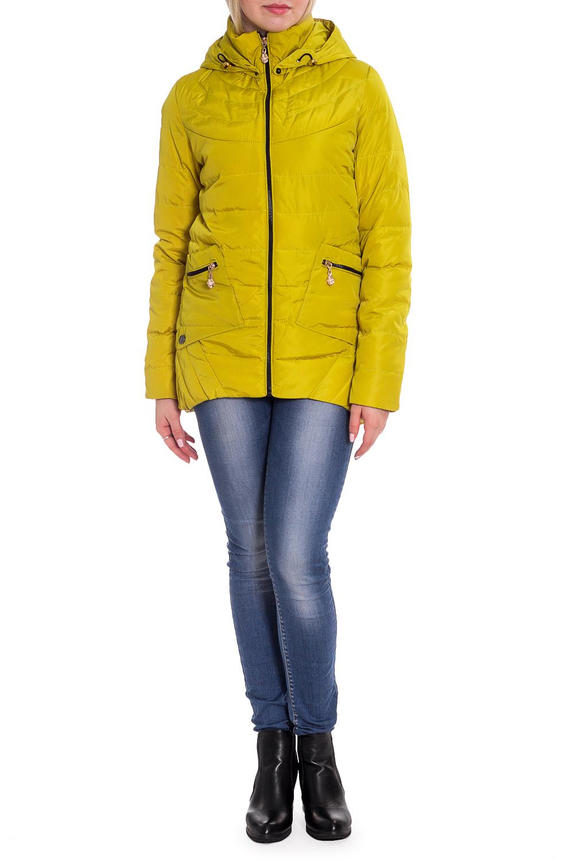 КурткаКуртки<br>Однотонная куртка с длинными рукавами, фигурным подолом и капюшоном. Модель выполнена из плотной болоньи. Отличный выбор для повседневного гардероба.  В изделии использованы цвета: горчичный  Рост девушки-фотомодели 170 см.<br><br>Воротник: Стойка<br>Застежка: С молнией<br>По длине: Короткие<br>По материалу: Плащевая ткань<br>По рисунку: Однотонные<br>По силуэту: Полуприталенные<br>По стилю: Кэжуал,Молодежный стиль,Повседневный стиль,Спортивный стиль<br>По элементам: С капюшоном,С карманами,С отделочной фурнитурой,С фигурным низом<br>Рукав: Длинный рукав<br>По сезону: Осень,Весна<br>Размер : 42,44,48<br>Материал: Болонья<br>Количество в наличии: 4