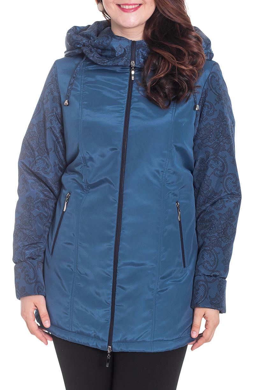 КурткаКуртки<br>Стильная женская куртка из болоневого материала. Капюшон, карманы, длинный рукав. Застежка - молния.  Цвет: синий.  Рост девушки-фотомодели 180 см<br><br>Воротник: Стойка<br>Застежка: С молнией<br>По длине: Средней длины<br>По материалу: Плащевая ткань<br>По рисунку: Однотонные<br>По силуэту: Полуприталенные<br>По стилю: Повседневный стиль<br>По элементам: С воротником,С декором,С капюшоном,С карманами,С подкладом<br>Рукав: Длинный рукав<br>По сезону: Осень,Весна<br>Размер : 72,74<br>Материал: Болонья<br>Количество в наличии: 2