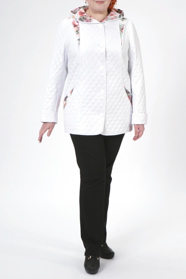 КурткаКуртки<br>Чудесная куртка из непродуваемой стеганной ткани. Отличный выбор для демисезонного периода.  В изделии использованы цвета: белый и др.  Рост девушки-фотомодели 172 см<br><br>По длине: Средней длины<br>По рисунку: С принтом,Цветные<br>По силуэту: Полуприталенные<br>По стилю: Повседневный стиль<br>По форме: Ветровка<br>По элементам: Отделка строчкой,С декором,С карманами<br>Рукав: Длинный рукав<br>По сезону: Осень,Весна<br>Размер : 68,74,76,78,80<br>Материал: Болонья<br>Количество в наличии: 5