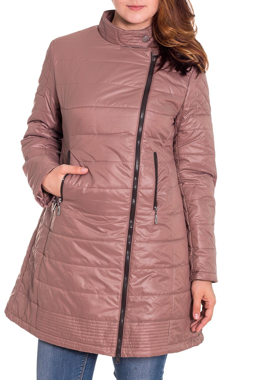 КурткаКуртки<br>Осенняя курточка со стоячим воротником и застежкой молнией. Модель выполнена из плотной болоньи. Отличный выбор для повседневного гардероба.  Цвет: коричневый  Температурный режим: до -10 градусов.  Рост девушки-фотомодели 180 см.<br><br>По образу: Город<br>По стилю: Повседневный стиль<br>По материалу: Плащевая ткань<br>По рисунку: Однотонные<br>По сезону: Весна,Осень<br>По силуэту: Свободные<br>По элементам: С карманами<br>По длине: Удлиненные<br>Воротник: Стойка<br>Рукав: Длинный рукав<br>Застежка: С молнией<br>Размер: 48,44<br>Материал: 100% полиэстер<br>Количество в наличии: 1