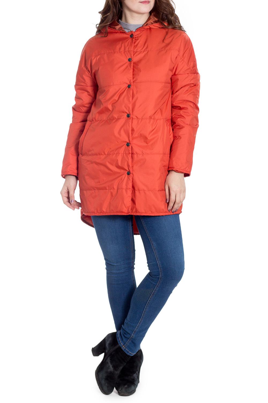КурткаКуртки<br>Ультрамодная куртка с удлиненной спинкой. Модель выполнена из плотной болоньи с застежкой на кнопки. Отличный выбор для повседневного гардероба.  Цвет: оранжевый  Рост девушки-фотомодели 180 см.<br><br>Застежка: С кнопками<br>По длине: Средней длины<br>По рисунку: Однотонные<br>По силуэту: Прямые<br>По стилю: Кэжуал,Молодежный стиль,Повседневный стиль<br>По элементам: С капюшоном,С карманами,С фигурным низом<br>Рукав: Длинный рукав<br>По сезону: Осень,Весна<br>Размер : 46-48,66-68<br>Материал: Болонья<br>Количество в наличии: 2