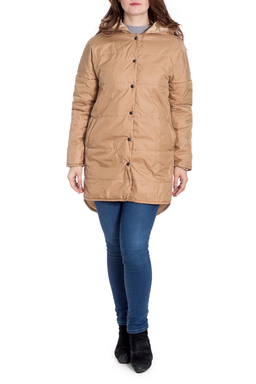 КурткаКуртки<br>Ультрамодная куртка с удлиненной спинкой. Модель выполнена из плотной болоньи с застежкой на кнопки. Отличный выбор для повседневного гардероба.  Цвет: бежевый  Рост девушки-фотомодели 180 см.<br><br>Застежка: С кнопками<br>По длине: Средней длины<br>По рисунку: Однотонные<br>По силуэту: Прямые<br>По стилю: Кэжуал,Молодежный стиль,Повседневный стиль<br>По элементам: С капюшоном,С карманами,С фигурным низом<br>Рукав: Длинный рукав<br>По сезону: Осень,Весна<br>Размер : 46-48,50-52,66-68,70-72<br>Материал: Болонья<br>Количество в наличии: 4