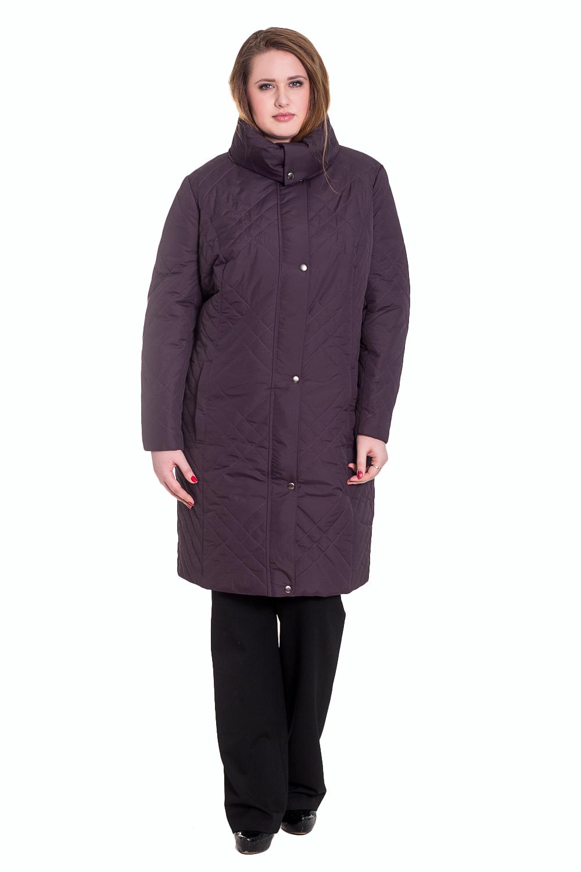 КурткаКуртки<br>Оригинальный женский танкер полуприлегающего силуэта с рельефами на передней и задней частях изделия. Центральная застежка на молнию с планкой и кнопками. Воротник стойка с кнопкой. Рукав втачной, двушовный.  Цвет: приглущенный фиолетовый.  Синтепон - лёгкий, объёмный, упругий нетканый материал, служащий утеплителем. Преимущества синтепона заключаются в лёгкости, хороших теплозащитных свойствах и малом весе, а также в безвредности для человека.  Плотность 150 г/кв.м - теплый синтепон в 1,5 см толщиной. Состав верхней ткани 100% полиэстер Состав подкладочной ткани 100% полиэстер Состав утеплителя 100% полиэфирное волокно.  Температурный режим до - 20°C  Длина рукава - 62 ± 1 см  Рост девушки-фотомодели 170 см  Длина изделия - 99 ± 2 см<br><br>Воротник: Стойка<br>Застежка: С кнопками,С молнией<br>По длине: Удлиненные<br>По материалу: Плащевая ткань,Синтепон<br>По образу: Город<br>По рисунку: Однотонные,Фактурный рисунок<br>По сезону: Зима<br>По силуэту: Полуприталенные<br>По стилю: Повседневный стиль<br>По форме: Пуховик<br>По элементам: С воротником,С декором,С карманами,С отделочной фурнитурой,С подкладом<br>Рукав: Длинный рукав<br>Размер : 56,58,60,62,64,66,68<br>Материал: Плащевая ткань<br>Количество в наличии: 13