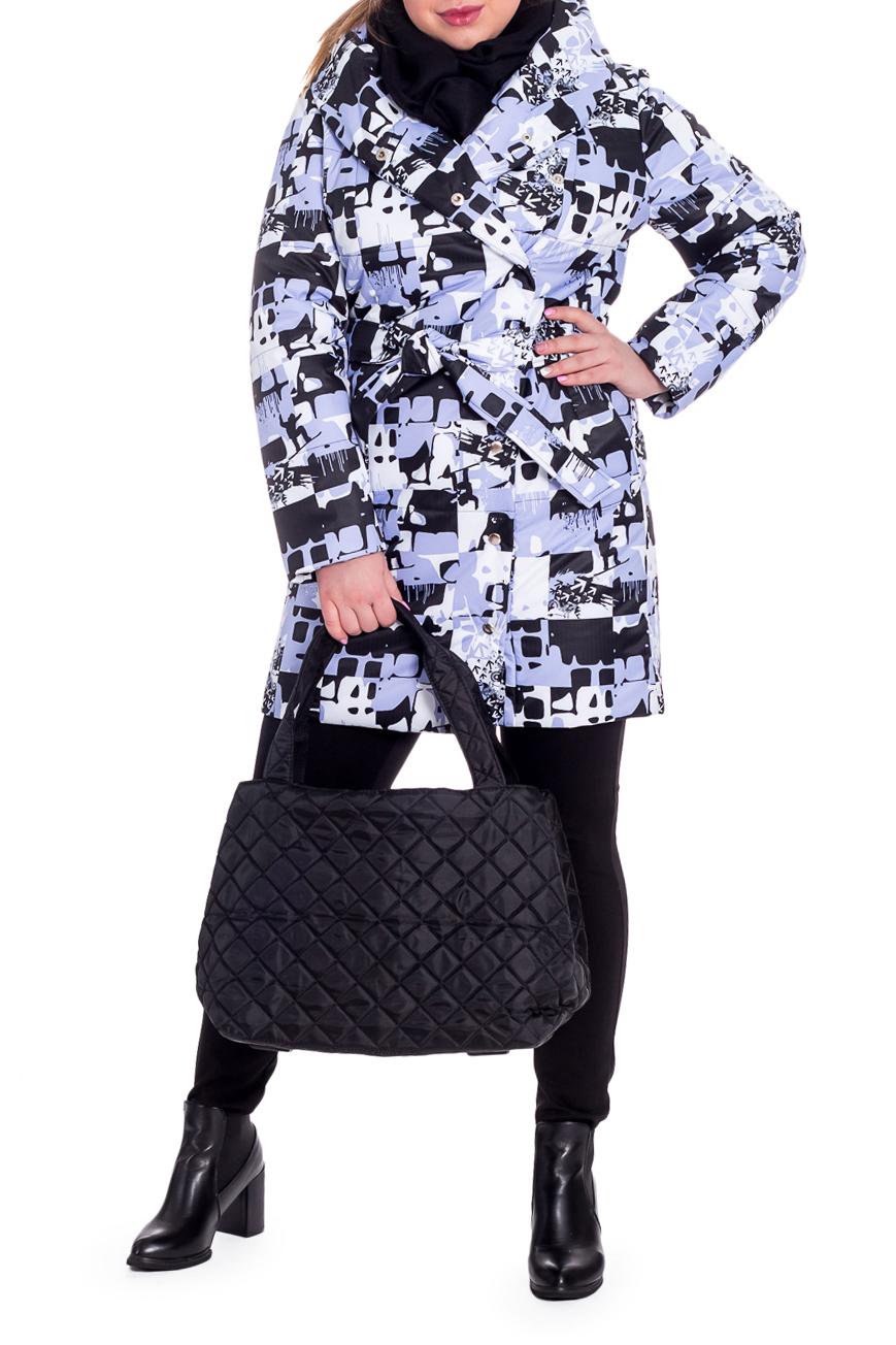 КурткаКуртки<br>Танкер демисезонный, прямого силуэта со съемным поясом. На передней части изделия рельефы, карманы с клапаном и смещенная застежка на потайные кнопки. Капюшон. Рукав втачной, двушовный, длинный.  Цвет: сиренево-серый, белый, черный.  Membrana (Мембрана) – это современная плащевая ткань с мембранным покрытием, состоящая из полиэстеровых волокон. Она достаточно плотная, прочная и приятная на ощупь. При этом готовые изделия из Мембраны обладают водоупорными и паропроницаемыми свойствами. Данные свойства плащевой ткани обусловлены её микропористой мембранной структурой, поэтому плащевка на мембране замечательно отталкивает жидкость (грязь) с поверхности ткани, не впитывая её, и выводит наружу испарения тела (пары, пот). Также плащевые ткани на мембране препятствуют проникновению ветра, т.е. абсолютно не продуваемы.  Синтепон - лёгкий, объёмный, упругий нетканый материал, служащий утеплителем. Преимущества синтепона заключаются в лёгкости, хороших теплозащитных свойствах и малом весе, а также в безвредности для человека.  Плотность 150 г/кв.м - теплый синтепон в 1,5 см толщиной. Состав верхней ткани 100% полиэстер Состав подкладочной ткани 100% полиэстер Состав утеплителя 100% полиэфирное волокно.  Температурный режим до - 10°C  Длина рукава - 62 ± 1 см  Рост девушки-фотомодели 170 см  Длина изделия - 94 ± 2 см<br><br>Воротник: Фантазийный<br>Застежка: С кнопками<br>По материалу: Синтепон<br>По рисунку: С принтом,Цветные<br>По силуэту: Прямые<br>По стилю: Кэжуал,Повседневный стиль,Спортивный стиль<br>По элементам: С воротником,С декором,С капюшоном,С карманами,С подкладом,С поясом<br>Рукав: Длинный рукав<br>По сезону: Осень,Весна<br>По длине: Средней длины<br>Размер : 50,52,54,56,58<br>Материал: Мембрана<br>Количество в наличии: 12