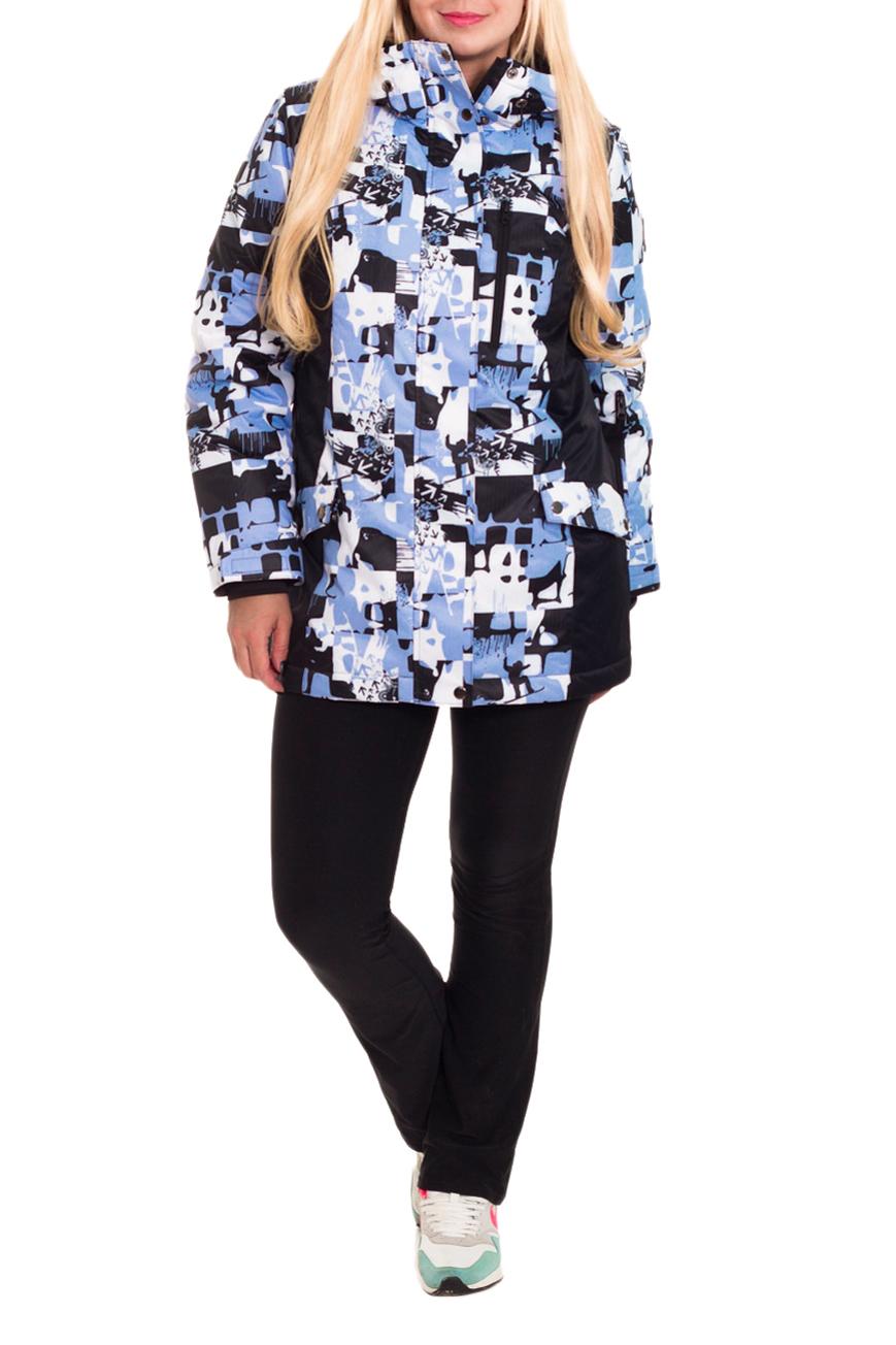 КурткаКуртки<br>Современные требования к горнолыжной одежде предполагают не только ее соответствие моде, но и высокую функциональность, которая проявляется и в используемых материалах и в специальном покрое. Помните, что настоящая горнолыжная куртка – это сплав дизайнерской мысли и высоких технологий.  Современная куртка горнолыжная прямого силуэта. На передней части изделия рельефы, центральная застежка на молнию с планкой, на уровне бедер прорезные карманы с клапаном и молнией и карман с молнией на груди. На спинке средний шов и рельефы. Капюшон. Рукав втачной, двушовный с манжетой и регулятором с липучкой по низу. На левом рукаве карман с молнии. Вентиляция в области подмышек. Внутри два накладных кармана и карман на молнии.  Цвет: сиренево-серый, белый, черный.  Membrana (Мембрана) – это современная плащевая ткань с мембранным покрытием, состоящая из полиэстеровых волокон. Она достаточно плотная, прочная и приятная на ощупь. При этом готовые изделия из Мембраны обладают водоупорными и паропроницаемыми свойствами. Данные свойства плащевой ткани обусловлены её микропористой мембранной структурой, поэтому плащевка на мембране замечательно отталкивает жидкость (грязь) с поверхности ткани, не впитывая её, и выводит наружу испарения тела (пары, пот). Также плащевые ткани на мембране препятствуют проникновению ветра, т.е. абсолютно не продуваемы.  Синтепон - лёгкий, объёмный, упругий нетканый материал, служащий утеплителем. Преимущества синтепона заключаются в лёгкости, хороших теплозащитных свойствах и малом весе, а также в безвредности для человека.  Плотность 150 г/кв.м - теплый синтепон в 1,5 см толщиной. Состав верхней ткани 100% полиэстер Состав подкладочной ткани 100% полиэстер Состав утеплителя 100% полиэфирное волокно.  Температурный режим до - 20°C  Длина рукава - 62 ± 1 см  Рост девушки-фотомодели 170 см  Длина изделия - 74 ± 2 см<br><br>Воротник: Стойка<br>Застежка: С кнопками,С молнией<br>По длине: Средней длины<br>По материалу: Синтепон,Тканевые<br>По рис