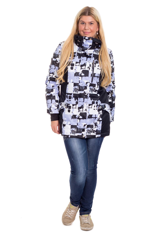 КурткаКуртки<br>Современные требования к горнолыжной одежде предполагают не только ее соответствие моде, но и высокую функциональность, которая проявляется и в используемых материалах и в специальном покрое. Помните, что настоящая горнолыжная куртка – это сплав дизайнерской мысли и высоких технологий.  Современная куртка горнолыжная прямого силуэта. На передней части изделия рельефы, центральная застежка на молнию с планкой, на уровне бедер прорезные карманы с клапаном и молнией и карман с молнией на груди. На спинке средний шов и рельефы. Капюшон. Рукав втачной, двушовный с манжетой и регулятором с липучкой по низу. На левом рукаве карман с молнии. Вентиляция в области подмышек. Внутри два накладных кармана и карман на молнии.  Цвет: сиренево-серый, белый, черный.  Membrana (Мембрана) – это современная плащевая ткань с мембранным покрытием, состоящая из полиэстеровых волокон. Она достаточно плотная, прочная и приятная на ощупь. При этом готовые изделия из Мембраны обладают водоупорными и паропроницаемыми свойствами. Данные свойства плащевой ткани обусловлены её микропористой мембранной структурой, поэтому плащевка на мембране замечательно отталкивает жидкость (грязь) с поверхности ткани, не впитывая её, и выводит наружу испарения тела (пары, пот). Также плащевые ткани на мембране препятствуют проникновению ветра, т.е. абсолютно не продуваемы.  Синтепон - лёгкий, объёмный, упругий нетканый материал, служащий утеплителем. Преимущества синтепона заключаются в лёгкости, хороших теплозащитных свойствах и малом весе, а также в безвредности для человека.  Плотность 150 г/кв.м - теплый синтепон в 1,5 см толщиной. Состав верхней ткани 100% полиэстер Состав подкладочной ткани 100% полиэстер Состав утеплителя 100% полиэфирное волокно.  Температурный режим до - 20°C  Длина рукава - 62 ± 1 см  Рост девушки-фотомодели 170 см  Длина изделия - 74 ± 2 см<br><br>По образу: Город,Спорт<br>По стилю: Молодежный стиль,Повседневный стиль,Спортивный стиль,Кэжуал<br>По материалу: Тканевые,