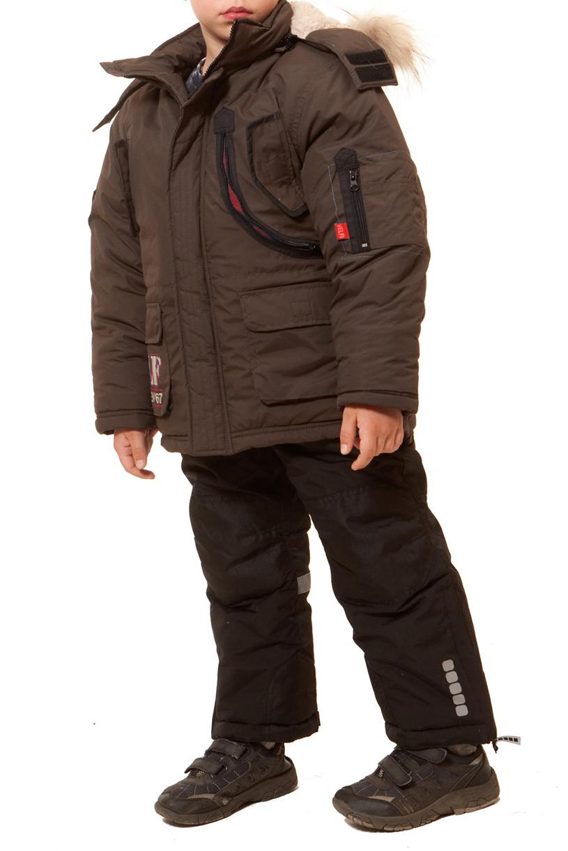 КурткаВерхняя одежда<br>Теплая куртка для мальчика. Опушка из натурального меха.  Искусственный мех внутри изделия. Декоративный карман с сеткой. Ткань верха: курточная, 100% полиэстер Подкладка: искусственный мех, 100% полиэстер Утеплитель: холлофан 300  Цвет: коричневый  Размер 104 соответствует росту 98-104 см Размер 110 соответствует росту 105-110 см Размер 116 соответствует росту 111-116 см Размер 122 соответствует росту 117-122 см Размер 128 соответствует росту 123-128 см Размер 134 соответствует росту 129-134 см Размер 140 соответствует росту 135-140 см Размер 146 соответствует росту 141-146 см Размер 152 соответствует росту 147-152 см Размер 158 соответствует росту 153-158 см Размер 164 соответствует росту 159-164 см Размер 170 соответствует росту 165-170 см<br><br>По возрасту: Дошкольные ( от 3 до 7 лет),Школьные ( от 7 до 13 лет)<br>По длине: Миди<br>По образу: Повседневные<br>По рисунку: Однотонные<br>По сезону: Зима<br>По силуэту: Полуприталенные<br>По элементам: С карманами,С молнией<br>Рукав: Длинный рукав<br>Воротник: Стойка<br>Размер : 122,128,152<br>Материал: Болонья<br>Количество в наличии: 3