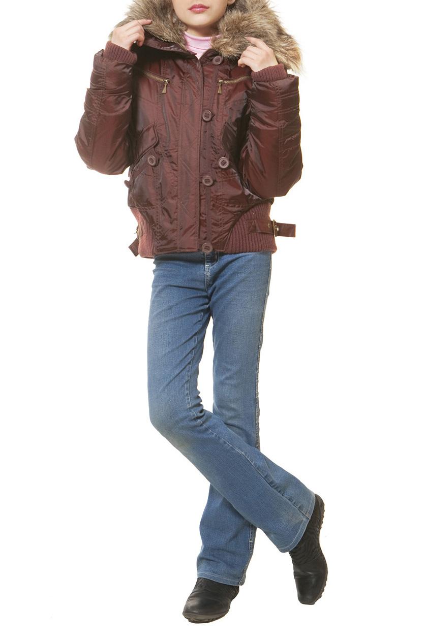 КурткаВерхняя одежда<br>Укороченная куртка зимняя для девочки с опушкой из натурального меха. Ткань верха: курточная, 100% полиэстер Подкладка: 100% полиэстер Утеплитель: холлофан 300  Цвет: красно-коричневый  Размер 104 соответствует росту 98-104 см Размер 110 соответствует росту 105-110 см Размер 116 соответствует росту 111-116 см Размер 122 соответствует росту 117-122 см Размер 128 соответствует росту 123-128 см Размер 134 соответствует росту 129-134 см Размер 140 соответствует росту 135-140 см Размер 146 соответствует росту 141-146 см Размер 152 соответствует росту 147-152 см Размер 158 соответствует росту 153-158 см Размер 164 соответствует росту 159-164 см Размер 170 соответствует росту 165-170 см<br><br>Воротник: Отложной<br>По возрасту: Школьные ( от 7 до 13 лет)<br>По образу: Повседневные<br>По рисунку: Однотонные<br>По сезону: Зима<br>По силуэту: Полуприталенные<br>По форме: Пуховик<br>По элементам: С карманами,С молнией<br>Рукав: Длинный рукав<br>По длине: Удлиненные<br>Размер : 140,146,152,158,164<br>Материал: Болонья<br>Количество в наличии: 5