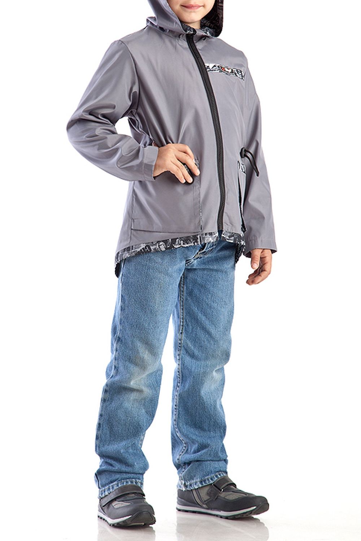 ПаркаВерхняя одежда<br>Парка для мальчика с капюшоном из водоотталкивающего материала. Стяжка кулисой по талии и по низу изделия. Накладные карманы. Удлинённая спинка.  Верхняя ткань - полиэстер 100%  Подкладка - хлопок 100%  В изделии использованы цвета: серый  Размер 74 соответствует росту 70-73 см Размер 80 соответствует росту 74-80 см Размер 86 соответствует росту 81-86 см Размер 92 соответствует росту 87-92 см Размер 98 соответствует росту 93-98 см Размер 104 соответствует росту 98-104 см Размер 110 соответствует росту 105-110 см Размер 116 соответствует росту 111-116 см Размер 122 соответствует росту 117-122 см Размер 128 соответствует росту 123-128 см Размер 134 соответствует росту 129-134 см Размер 140 соответствует росту 135-140 см<br><br>Воротник: Стойка<br>По возрасту: Ясельные ( от 1 до 3 лет),Дошкольные ( от 3 до 7 лет),Школьные ( от 7 до 13 лет)<br>По длине: Миди<br>По материалу: Плащевая ткань<br>По образу: Повседневные<br>По рисунку: Однотонные<br>По сезону: Лето,Осень,Весна<br>По силуэту: Полуприталенные<br>По форме: Куртка-парка<br>По элементам: С капюшоном,С карманами,С подкладом,С фигурным низом<br>Рукав: Длинный рукав<br>Размер : 104,110,116,122,128<br>Материал: Болонья<br>Количество в наличии: 5