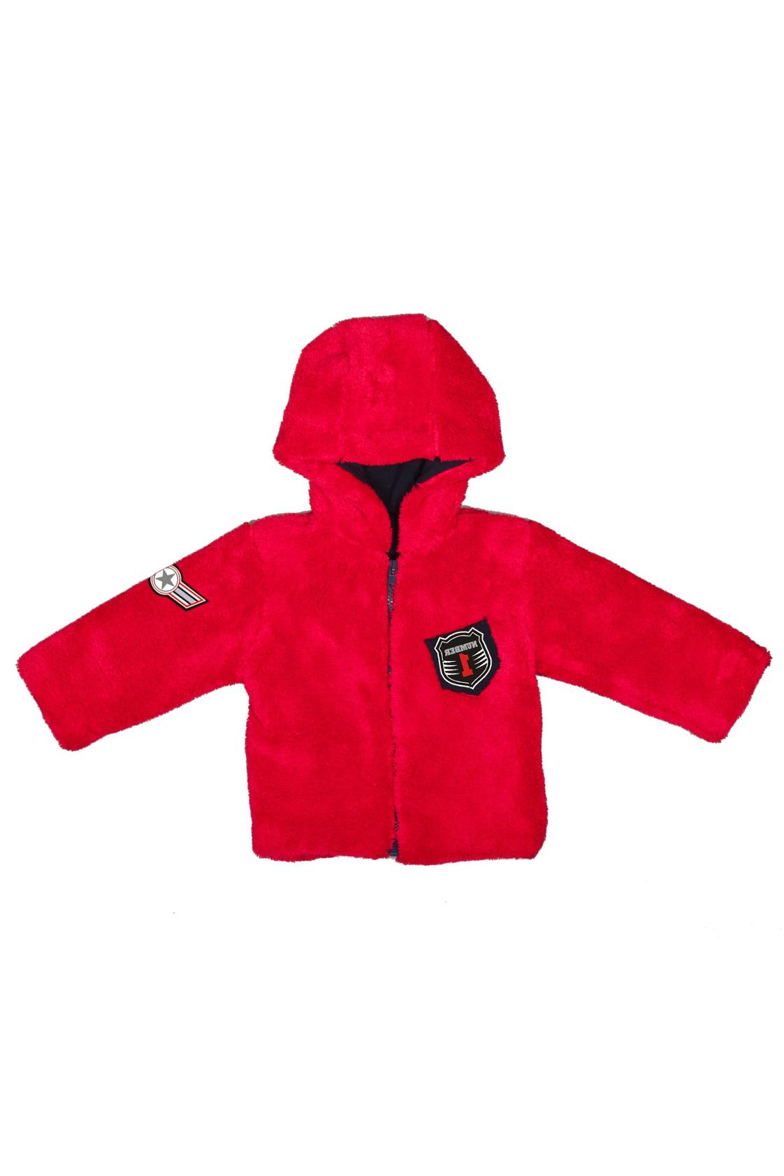 КурточкаВерхняя одежда<br>Мягкая и теплая курточка для мальчика. Подклад из 100% хлопка.В изделии использованы цвета: красныйРазмер 74 соответствует росту 70-73 смРазмер 80 соответствует росту 74-80 смРазмер 86 соответствует росту 81-86 смРазмер 92 соответствует росту 87-92 смРазмер 98 соответствует росту 93-98 смРазмер 104 соответствует росту 98-104 смРазмер 110 соответствует росту 105-110 смРазмер 116 соответствует росту 111-116 смРазмер 122 соответствует росту 117-122 смРазмер 128 соответствует росту 123-128 смРазмер 134 соответствует росту 129-134 смРазмер 140 соответствует росту 135-140 см<br><br>Рукав: Длинный рукав<br>Возраст: Ясельные ( от 1 до 3 лет)<br>Длина: Миди<br>Образ: Повседневные<br>Рисунок: Однотонные<br>Сезон: Весна,Осень<br>Силуэт: Полуприталенные<br>Стиль: Повседневные<br>Элементы: С капюшоном,С молнией,С подкладом<br>Размер : 74,80,86,92<br>Материал: Велсофт<br>Количество в наличии: 6