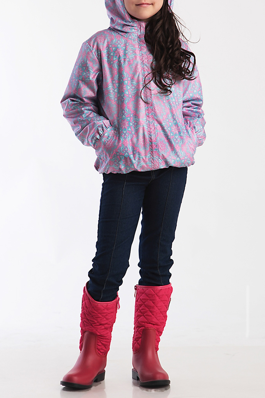 ВетровкаВерхняя одежда<br>Ветровка для девочки с капюшоном. Застёжка-молния скрыта ветрозащитной планкой. Капюшон с декоративными складками. Низ рукавов и низ куртки фиксируются эластичной тесьмой  Верхняя ткань - полиэстер 100%  Подкладка - хлопок 100%  В изделии использованы цвета: розовый, голубой  Размер 74 соответствует росту 70-73 см Размер 80 соответствует росту 74-80 см Размер 86 соответствует росту 81-86 см Размер 92 соответствует росту 87-92 см Размер 98 соответствует росту 93-98 см Размер 104 соответствует росту 98-104 см Размер 110 соответствует росту 105-110 см Размер 116 соответствует росту 111-116 см Размер 122 соответствует росту 117-122 см Размер 128 соответствует росту 123-128 см Размер 134 соответствует росту 129-134 см Размер 140 соответствует росту 135-140 см<br><br>Воротник: Стойка<br>По возрасту: Ясельные ( от 1 до 3 лет),Дошкольные ( от 3 до 7 лет),Школьные ( от 7 до 13 лет)<br>По длине: Миди<br>По материалу: Плащевая ткань<br>По образу: Повседневные<br>По рисунку: С принтом (печатью),Цветные<br>По сезону: Лето,Осень,Весна<br>По силуэту: Свободные<br>По форме: Ветровка<br>По элементам: С карманами,С молнией,С подкладом,С капюшоном<br>Рукав: Длинный рукав<br>Размер : 104,110,116,122,128<br>Материал: Плащевая ткань<br>Количество в наличии: 5