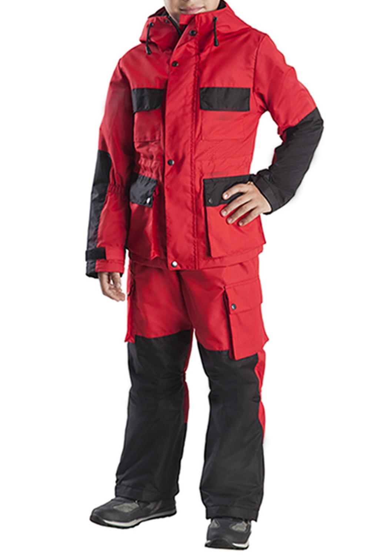 КостюмВерхняя одежда<br>Летний ветрозащитный костюм, состоящий из куртки и брюк, прекрасно защитит от ветра, небольшого дождя и хлёстких веток, сгладит перепады температур. Куртка удлинённая, свободного кроя с капюшоном в форме трубы.  Верхняя ткань - хлопок 100%  Подклад - флис  В изделии использованы цвета: красный, черный  Размер 74 соответствует росту 70-73 см Размер 80 соответствует росту 74-80 см Размер 86 соответствует росту 81-86 см Размер 92 соответствует росту 87-92 см Размер 98 соответствует росту 93-98 см Размер 104 соответствует росту 98-104 см Размер 110 соответствует росту 105-110 см Размер 116 соответствует росту 111-116 см Размер 122 соответствует росту 117-122 см Размер 128 соответствует росту 123-128 см Размер 134 соответствует росту 129-134 см Размер 140 соответствует росту 135-140 см<br><br>Воротник: Стойка<br>По возрасту: Дошкольные ( от 3 до 7 лет),Школьные ( от 7 до 13 лет)<br>По длине: Макси<br>По материалу: Плащевая ткань<br>По образу: Повседневные<br>По рисунку: Цветные<br>По силуэту: Полуприталенные<br>По элементам: С капюшоном,С карманами,С подкладом<br>Рукав: Длинный рукав<br>По сезону: Осень,Весна<br>Размер : 122,128,134<br>Материал: Плащевая ткань<br>Количество в наличии: 3