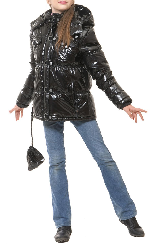 КурткаВерхняя одежда<br>Теплая куртка с капюшоном для девочки. Ткань верха: курточная, 100% полиэстер Подкладка: 100% полиэстер Утеплитель: холлофан 300  Цвет: черный  Размер 104 соответствует росту 98-104 см Размер 110 соответствует росту 105-110 см Размер 116 соответствует росту 111-116 см Размер 122 соответствует росту 117-122 см Размер 128 соответствует росту 123-128 см Размер 134 соответствует росту 129-134 см Размер 140 соответствует росту 135-140 см Размер 146 соответствует росту 141-146 см Размер 152 соответствует росту 147-152 см Размер 158 соответствует росту 153-158 см Размер 164 соответствует росту 159-164 см Размер 170 соответствует росту 165-170 см<br><br>Воротник: Отложной<br>По возрасту: Школьные ( от 7 до 13 лет)<br>По образу: Повседневные<br>По рисунку: Однотонные<br>По сезону: Зима<br>По силуэту: Полуприталенные<br>По форме: Пуховик<br>По элементам: С карманами,С молнией<br>Рукав: Длинный рукав<br>По длине: Удлиненные<br>Размер : 140,146<br>Материал: Болонья<br>Количество в наличии: 3