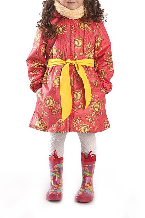 ПлащВерхняя одежда<br>Яркий плащ для девочки с капюшоном, воротником-стойка. На флисовом подкладе  Верхняя ткань - полиэстер 100%  Подкладка - флис  Плащ без пояса.  В изделии использованы цвета: красно-коралловый, желтый и др.  Размер 74 соответствует росту 70-73 см Размер 80 соответствует росту 74-80 см Размер 86 соответствует росту 81-86 см Размер 92 соответствует росту 87-92 см Размер 98 соответствует росту 93-98 см Размер 104 соответствует росту 98-104 см Размер 110 соответствует росту 105-110 см Размер 116 соответствует росту 111-116 см Размер 122 соответствует росту 117-122 см Размер 128 соответствует росту 123-128 см Размер 134 соответствует росту 129-134 см Размер 140 соответствует росту 135-140 см<br><br>Воротник: Стойка<br>По возрасту: Ясельные ( от 1 до 3 лет),Дошкольные ( от 3 до 7 лет),Школьные ( от 7 до 13 лет)<br>По длине: Удлиненные<br>По материалу: Плащевая ткань<br>По образу: Повседневные<br>По рисунку: С принтом (печатью),Цветные,Этнические<br>По силуэту: Полуприталенные<br>По элементам: С капюшоном,С карманами,С манжетами,С молнией,С подкладом<br>Рукав: Длинный рукав<br>По сезону: Осень,Весна<br>Размер : 104,122<br>Материал: Плащевая ткань<br>Количество в наличии: 2