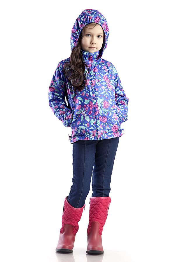 КурткаВерхняя одежда<br>Куртка для девочки с капюшоном. Застёжка-молния скрыта ветрозащитной планкой, по низу изделия кулиса с эластичной утяжкой  Верхняя ткань - полиэстер 100%  Подкладка - флис  В изделии использованы цвета: синий, розовый и др.  Размер 74 соответствует росту 70-73 см Размер 80 соответствует росту 74-80 см Размер 86 соответствует росту 81-86 см Размер 92 соответствует росту 87-92 см Размер 98 соответствует росту 93-98 см Размер 104 соответствует росту 98-104 см Размер 110 соответствует росту 105-110 см Размер 116 соответствует росту 111-116 см Размер 122 соответствует росту 117-122 см Размер 128 соответствует росту 123-128 см Размер 134 соответствует росту 129-134 см Размер 140 соответствует росту 135-140 см<br><br>Воротник: Стойка<br>По возрасту: Дошкольные ( от 3 до 7 лет)<br>По длине: Миди<br>По материалу: Плащевая ткань<br>По образу: Повседневные<br>По рисунку: Растительные мотивы,С принтом (печатью),Цветные,Цветочные<br>По силуэту: Полуприталенные<br>По элементам: С капюшоном,С карманами,С манжетами,С молнией,С подкладом<br>Рукав: Длинный рукав<br>По сезону: Осень,Весна<br>Размер : 116,122<br>Материал: Плащевая ткань<br>Количество в наличии: 2