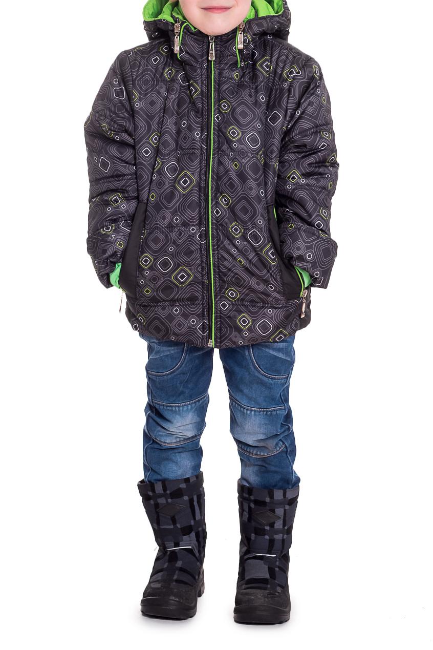 КурткаВерхняя одежда<br>Красивая и удобная куртка для мальчика. Капюшон не отстегивается.  В изделии использованы цвета: серый, зеленый  Размер 74 соответствует росту 70-73 см Размер 80 соответствует росту 74-80 см Размер 86 соответствует росту 81-86 см Размер 92 соответствует росту 87-92 см Размер 98 соответствует росту 93-98 см Размер 104 соответствует росту 98-104 см Размер 110 соответствует росту 105-110 см Размер 116 соответствует росту 111-116 см Размер 122 соответствует росту 117-122 см Размер 128 соответствует росту 123-128 см Размер 134 соответствует росту 129-134 см Размер 140 соответствует росту 135-140 см Размер 146 соответствует росту 141-146 см<br><br>По материалу: Плащевая ткань,Тканевые<br>По образу: Повседневные<br>По рисунку: С принтом (печатью)<br>По элементам: С карманами,С молнией<br>Рукав: Длинный рукав<br>По возрасту: Дошкольные ( от 3 до 7 лет),Ясельные ( от 1 до 3 лет)<br>По сезону: Осень,Весна<br>Размер : 104<br>Материал: Болонья<br>Количество в наличии: 1