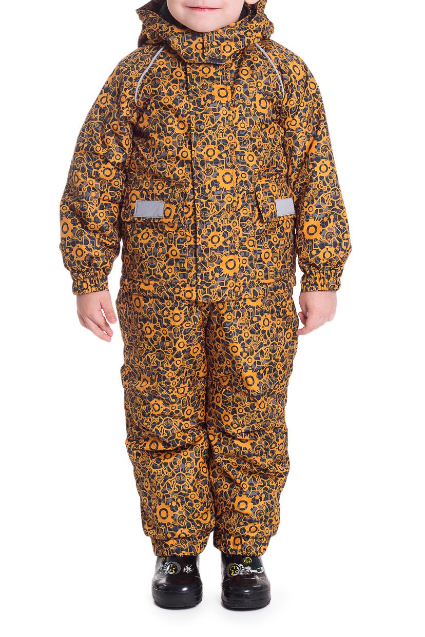КостюмВерхняя одежда<br>Красивый и удобный костюм для мальчика. Костюм состоит из полукомбинезона и куртки.  Модель утеплена тонким слоем синтепона.  Цвет: желтый, серый  Размер 74 соответствует росту 70-73 см Размер 80 соответствует росту 74-80 см Размер 86 соответствует росту 81-86 см Размер 92 соответствует росту 87-92 см Размер 98 соответствует росту 93-98 см Размер 104 соответствует росту 98-104 см Размер 110 соответствует росту 105-110 см Размер 116 соответствует росту 111-116 см Размер 122 соответствует росту 117-122 см Размер 128 соответствует росту 123-128 см Размер 134 соответствует росту 129-134 см Размер 140 соответствует росту 135-140 см Размер 146 соответствует росту 141-146 см<br><br>Воротник: Стойка<br>По длине: Макси<br>По материалу: Плащевая ткань,Тканевые<br>По образу: Повседневные<br>По рисунку: С принтом (печатью),Цветные<br>По силуэту: Полуприталенные<br>По элементам: С карманами<br>Рукав: Длинный рукав,С манжетой<br>По сезону: Осень,Весна<br>По возрасту: Ясельные ( от 1 до 3 лет)<br>Размер : 104<br>Материал: Болонья<br>Количество в наличии: 1