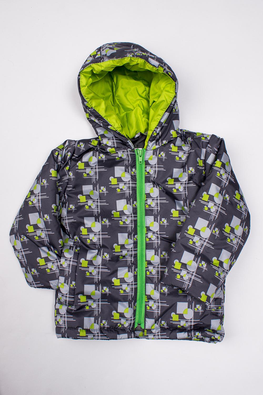 КурткаВерхняя одежда<br>Симпатичная куртка с ярким, интересным принтом, спереди застегивается на молнию, имеет глубокий капюшон, два прорезных кармашка. Ткань верха не промокаемая и не продуваемая. Ткань верха обеспечивает защиту от влаги, загрязнений и ветра, что обеспечит комфорт вашему ребенку во время прогулок. Утеплитель нового поколения - силиконизированный термофайбер его отличительное свойство – это способность сохранять свои внешние параметры после стирки и функциональные способности в процессе эксплуатации. Такой наполнитель не впитывает влагу, а элементарно сбрасывает ее (гигроскопичность не превышает 1%), не поддерживает горение.  Верх - \quot;дьюспо\quot; (полиамид), подкладка - полиэстер 100 % , утеплитель - термофайбер (силиконизированный) 150 г/м  В изделии использованы цвета: серый, салатовый и др.  Размер 74 соответствует росту 70-73 см Размер 80 соответствует росту 74-80 см Размер 86 соответствует росту 81-86 см Размер 92 соответствует росту 87-92 см Размер 98 соответствует росту 93-98 см Размер 104 соответствует росту 98-104 см Размер 110 соответствует росту 105-110 см Размер 116 соответствует росту 111-116 см Размер 122 соответствует росту 117-122 см Размер 128 соответствует росту 123-128 см Размер 134 соответствует росту 129-134 см Размер 140 соответствует росту 135-140 см Размер 146 соответствует росту 141-146 см Размер 152 соответствует росту 147-152 см Размер 158 соответствует росту 153-158 см<br><br>По возрасту: Дошкольные ( от 3 до 7 лет),Ясельные ( от 1 до 3 лет)<br>По длине: Миди<br>По материалу: Плащевая ткань<br>По образу: Повседневные,Спорт<br>По рисунку: С принтом (печатью),Цветные<br>По силуэту: Полуприталенные<br>По форме: Ветровка<br>По элементам: С капюшоном,С карманами,С молнией<br>Рукав: Длинный рукав<br>По сезону: Осень,Весна<br>Размер : 116,92,98<br>Материал: Болонья<br>Количество в наличии: 3