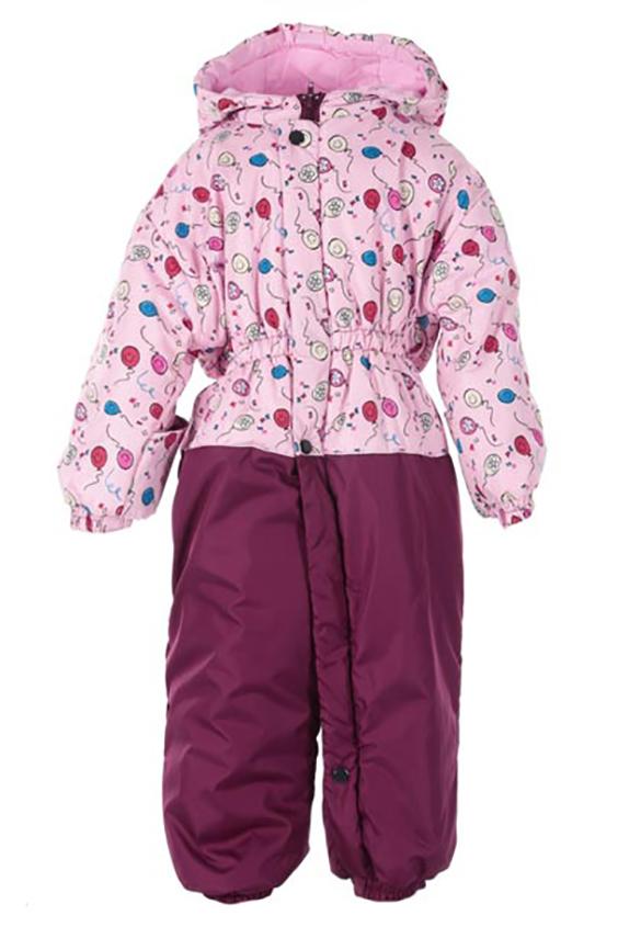 КомбинезонВерхняя одежда<br>Комбинезон с молниями до середины ножки и планкой на кнопках, что значительно облегчает процесс одевания ребенка, с внутренней стороны молнии закрыты ветрозащатной планкой, подкладка - хлопок дополнительно утепляет комбинезон, по спинке проходит резинка, на ручках и ножках предусмотрены отвороты, удобный глубокий капюшон затягивается по линии лица специальным шнурком, на ножках предусмотрена резинка на сапожок, яркие расцветки.. Ткань верха непродуваемая и водооталкивающая. Утеплитель нового поколения - силиконизированный термофайбер его отличительное свойство – это способность сохранять свои внешние параметры после стирки и функциональные способности в процессе эксплуатации.  Верх-дьюспо (100% полиамид), подкладка - хлопок 100 % (кулирная гладь), утеплитель - термофайбер 100 г/м  В изделии использованы цвета: бордовый, розовый и др.  Размер 74 соответствует росту 70-73 см Размер 80 соответствует росту 74-80 см Размер 86 соответствует росту 81-86 см Размер 92 соответствует росту 87-92 см Размер 98 соответствует росту 93-98 см Размер 104 соответствует росту 98-104 см Размер 110 соответствует росту 105-110 см Размер 116 соответствует росту 111-116 см Размер 122 соответствует росту 117-122 см Размер 128 соответствует росту 123-128 см Размер 134 соответствует росту 129-134 см Размер 140 соответствует росту 135-140 см Размер 146 соответствует росту 141-146 см Размер 152 соответствует росту 147-152 см Размер 158 соответствует росту 153-158 см Размер 164 соответствует росту 159-164 см<br><br>Воротник: Стойка<br>По возрасту: Ясельные ( от 1 до 3 лет)<br>По длине: Макси<br>По материалу: Плащевая ткань<br>По образу: Повседневные<br>По рисунку: С принтом (печатью),Цветные<br>По силуэту: Полуприталенные<br>По стилю: Повседневные<br>По элементам: С капюшоном,С карманами,С молнией<br>Рукав: Длинный рукав<br>По сезону: Осень,Весна<br>Размер : 74,80,86<br>Материал: Болонья<br>Количество в наличии: 3