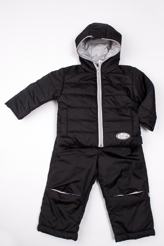 КомплектВерхняя одежда<br>Удобный, оригинальный комплект для мальчика состоит из куртки и полукомбинезона. Куртка спереди застегивается н молнию, имеет два прорезных кармашка. Полукомбинезон с передней молнией, по спинке проходит резинка, бретели регулируются по длине, на брючине светоотражающая полоска. Комплект выполнен из ветро и влагозащитной тканиткани  Состав верх - quot;Дьюспоquot; (полиамид 100%), подкладка - полиэстер 100%, утеплитель - термофайбер 150 г/м  В изделии использованы цвета: черный, серый  Размер 74 соответствует росту 70-73 см Размер 80 соответствует росту 74-80 см Размер 86 соответствует росту 81-86 см Размер 92 соответствует росту 87-92 см Размер 98 соответствует росту 93-98 см Размер 104 соответствует росту 98-104 см Размер 110 соответствует росту 105-110 см Размер 116 соответствует росту 111-116 см Размер 122 соответствует росту 117-122 см Размер 128 соответствует росту 123-128 см Размер 134 соответствует росту 129-134 см Размер 140 соответствует росту 135-140 см<br><br>По возрасту: Ясельные ( от 1 до 3 лет),Дошкольные ( от 3 до 7 лет)<br>По длине: Макси<br>По материалу: Плащевая ткань<br>По образу: Повседневные,Спорт<br>По рисунку: Однотонные<br>По силуэту: Полуприталенные<br>По элементам: С капюшоном,С карманами,С молнией<br>Рукав: Длинный рукав<br>По сезону: Осень,Весна<br>Размер : 104,110,116,86,92,98<br>Материал: Болонья<br>Количество в наличии: 6