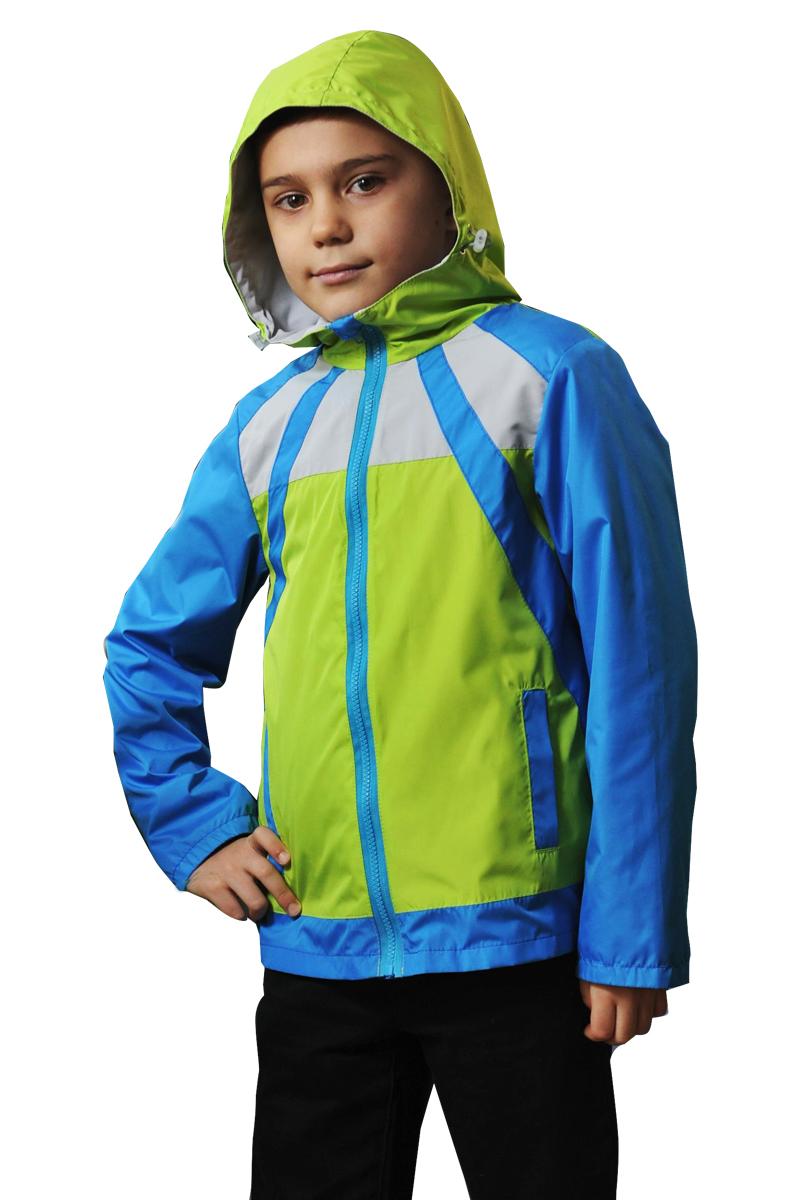 ВетровкаВерхняя одежда<br>Лёгкая ветровка на гипоаллергенной хлопковой подкладке в актуальном в этом сезоне стиле пэчворк.Ветровка с капюшоном оригинального кроя на хлопковой подкладке. Капюшон регулируется по высоте эластичным шнуром. Выполнена из мягкой нешуршащей ткани, обладающей ветрозащитными и влагостойкими свойствами. Материал имеет среднюю степень защиты от влаги и комфортен при носке.Верхняя ткань - Дюспо 100% п/э Подклад Кулира 100% х/б В изделии использованы цвета: зеленый, голубойРазмер 74 соответствует росту 70-73 смРазмер 80 соответствует росту 74-80 смРазмер 86 соответствует росту 81-86 смРазмер 92 соответствует росту 87-92 смРазмер 98 соответствует росту 93-98 смРазмер 104 соответствует росту 98-104 смРазмер 110 соответствует росту 105-110 смРазмер 116 соответствует росту 111-116 смРазмер 122 соответствует росту 117-122 смРазмер 128 соответствует росту 123-128 смРазмер 134 соответствует росту 129-134 смРазмер 140 соответствует росту 135-140 см<br><br>Воротник: Стойка<br>Рукав: Длинный рукав<br>Возраст: Дошкольные ( от 3 до 7 лет),Школьные ( от 7 до 13 лет)<br>Длина: Миди<br>Материал: Плащевая ткань,Тканевые<br>Образ: Повседневные<br>Рисунок: Цветные<br>Сезон: Весна,Осень<br>Силуэт: Полуприталенные<br>Форма: Ветровка<br>Элементы: С капюшоном,С карманами,С подкладом<br>Размер : 116,122,128<br>Материал: Плащевая ткань<br>Количество в наличии: 4