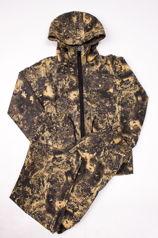 КостюмВерхняя одежда<br>Летний ветрозащитный костюм, состоящий из куртки и брюк, прекрасно защитит от ветра, небольшого дождя и хлёстких веток, сгладит перепады температур.  Верхняя ткань - хлопок 65% полиэстер 35%   В изделии использованы цвета: коричневый и др.  Размер 74 соответствует росту 70-73 см Размер 80 соответствует росту 74-80 см Размер 86 соответствует росту 81-86 см Размер 92 соответствует росту 87-92 см Размер 98 соответствует росту 93-98 см Размер 104 соответствует росту 98-104 см Размер 110 соответствует росту 105-110 см Размер 116 соответствует росту 111-116 см Размер 122 соответствует росту 117-122 см Размер 128 соответствует росту 123-128 см Размер 134 соответствует росту 129-134 см Размер 140 соответствует росту 135-140 см Размер 146 соответствует росту 141-146 см Размер 152 соответствует росту 147-152 см Размер 158 соответствует росту 153-158 см Размер 164 соответствует росту 159-164 см Размер 170 соответствует росту 165-170 см<br><br>Воротник: Стойка<br>Рукав: Длинный рукав<br>Возраст: Дошкольные ( от 3 до 7 лет)<br>Длина: Макси<br>Материал: Хлопковые<br>Образ: Повседневные<br>Рисунок: С принтом (печатью),Цветные<br>Сезон: Весна,Лето,Осень<br>Элементы: С капюшоном,С карманами,С манжетами,С молнией<br>Размер : 146<br>Материал: Хлопок<br>Количество в наличии: 1