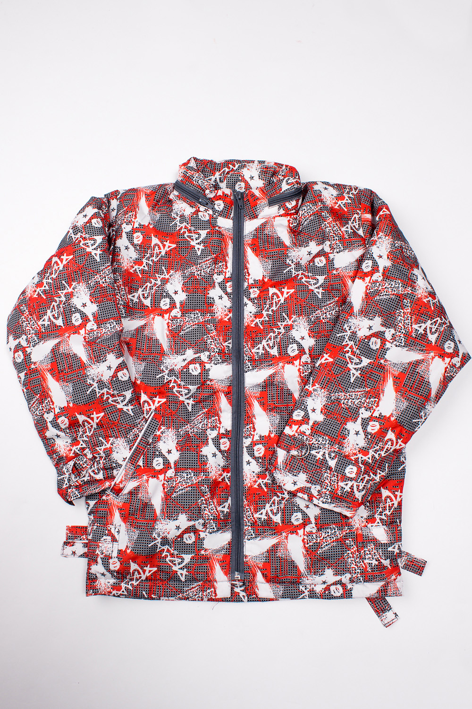 КурткаВерхняя одежда<br>Удобная куртка для мальчика с ярким, интересным принтом выполнена из непродуваемой и влагоотталкивающей ткани, спереди застегивается на молнию, низ изделия и манжеты регулируются затяжками на металлических полукольцах, имеется два прорезных кармана и капюшон который убирается в воротник.  Верх - курточная ткань Fit system, подкладка - Таффета Twill (полиэстер), утеплитель - термофайбер 150 г/м  В изделии использованы цвета: серый, красный и др.  Размер 74 соответствует росту 70-73 см Размер 80 соответствует росту 74-80 см Размер 86 соответствует росту 81-86 см Размер 92 соответствует росту 87-92 см Размер 98 соответствует росту 93-98 см Размер 104 соответствует росту 98-104 см Размер 110 соответствует росту 105-110 см Размер 116 соответствует росту 111-116 см Размер 122 соответствует росту 117-122 см Размер 128 соответствует росту 123-128 см Размер 134 соответствует росту 129-134 см Размер 140 соответствует росту 135-140 см Размер 146 соответствует росту 141-146 см Размер 152 соответствует росту 147-152 см Размер 158 соответствует росту 153-158 см<br><br>Воротник: Стойка<br>По возрасту: Школьные ( от 7 до 13 лет)<br>По длине: Миди<br>По материалу: Плащевая ткань<br>По образу: Повседневные,Спорт<br>По рисунку: С принтом (печатью),Цветные<br>По силуэту: Полуприталенные<br>По стилю: Повседневные<br>По форме: Ветровка<br>По элементам: С капюшоном,С карманами,С молнией<br>Рукав: Длинный рукав<br>По сезону: Осень,Весна<br>Размер : 140,146,152,158<br>Материал: Болонья<br>Количество в наличии: 7